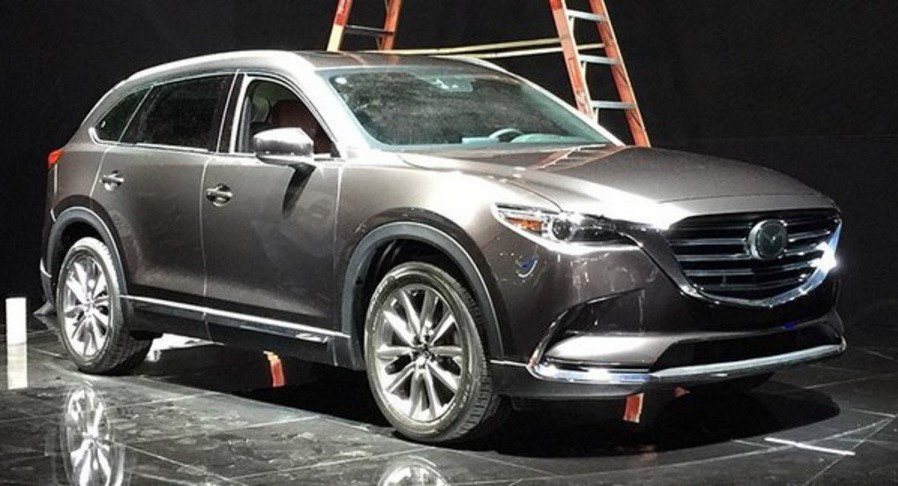 2017 mazda cx 9 sneak peek from the los angeles auto show autoevolution. Black Bedroom Furniture Sets. Home Design Ideas