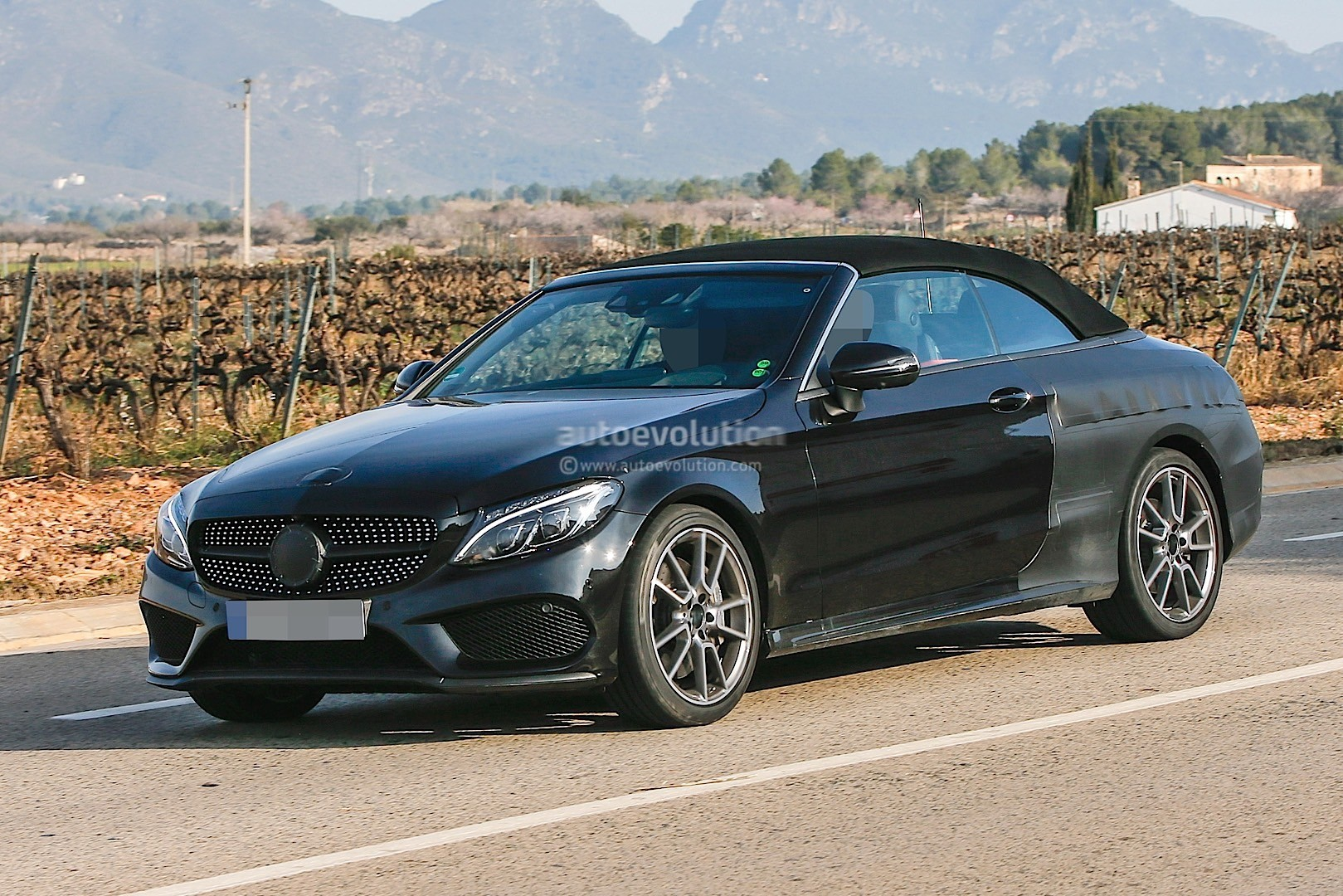 2017 Mercedes AMG C43 Cabriolet A205 Spied Autoevolution