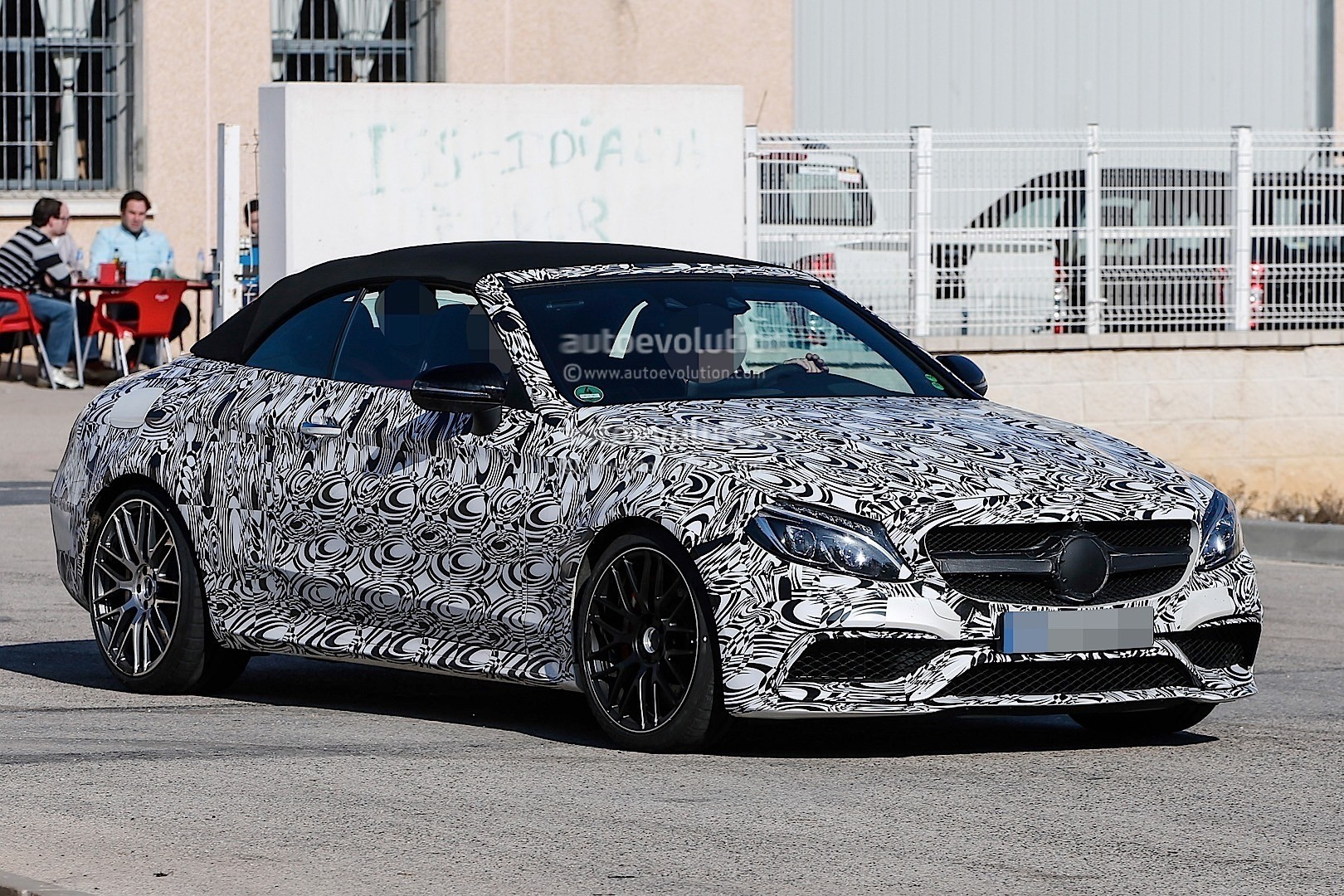 2017 Mercedes-AMG C63 Cabriolet Is Wearing Mismatched ...
