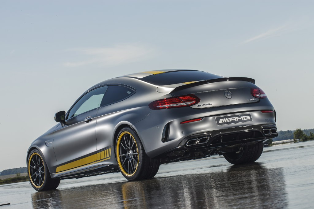 2017 mercedes amg c63 coupe edition 1 launched together with new dtm car autoevolution. Black Bedroom Furniture Sets. Home Design Ideas