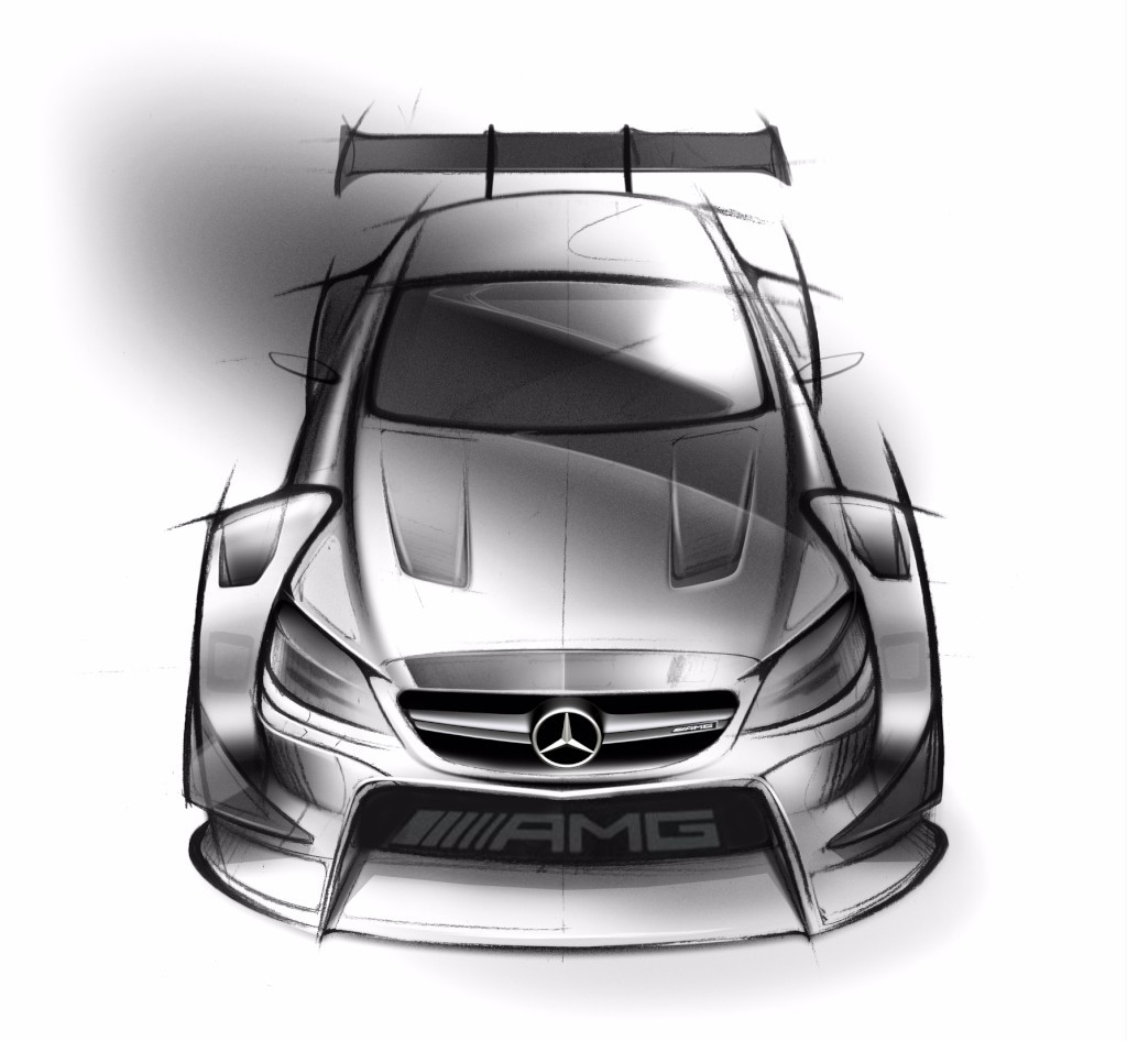 2017 Mercedes-AMG C63 Coupe Gets Official Racecar Conversion Sketch ...