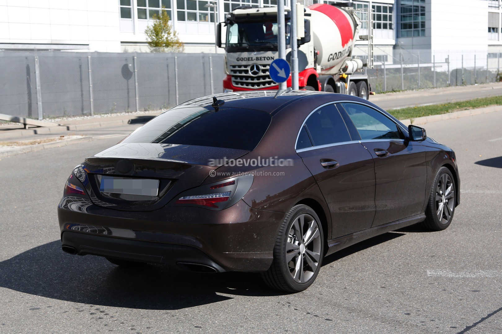 2017 Mercedes Benz Cla Cl Spyshots