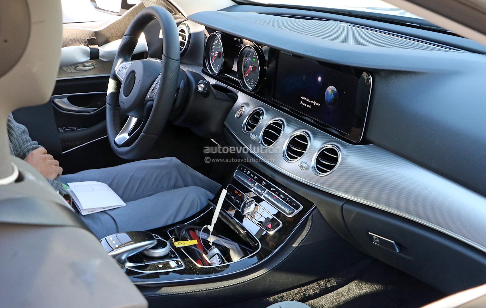 2017 Mercedes-Benz E-Class Interior Revealed in Latest Spyshots