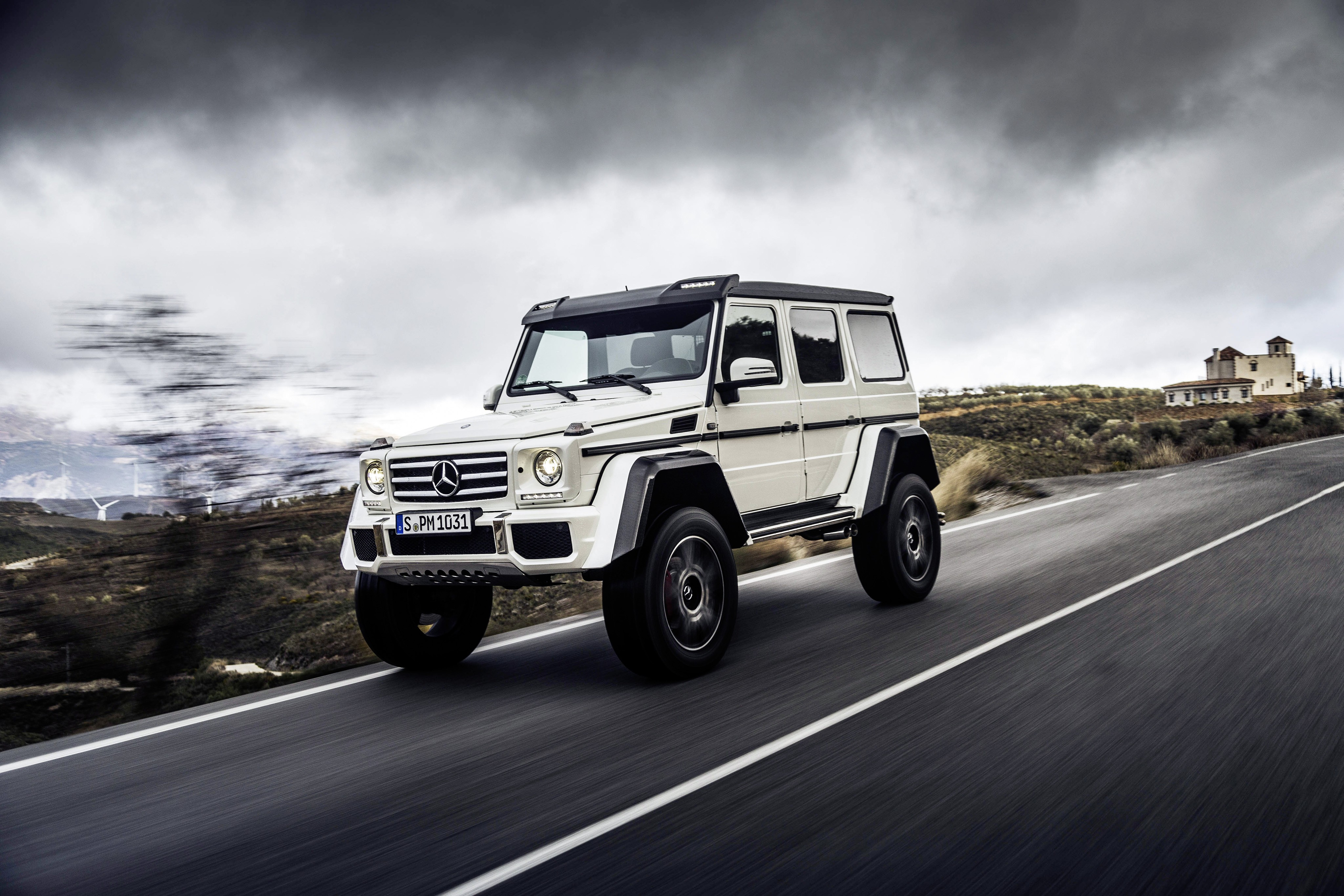 2017 mercedes benz g550 4 4 en route to the united states