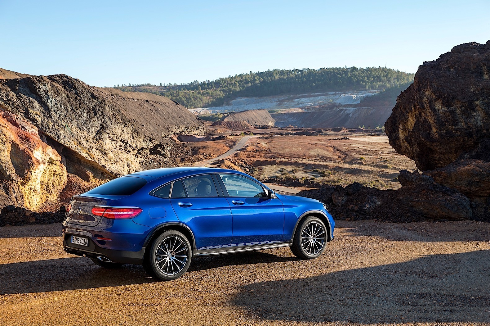 2017 Mercedes Benz Glc Coupe Is Out For Bmw X4 Blood In
