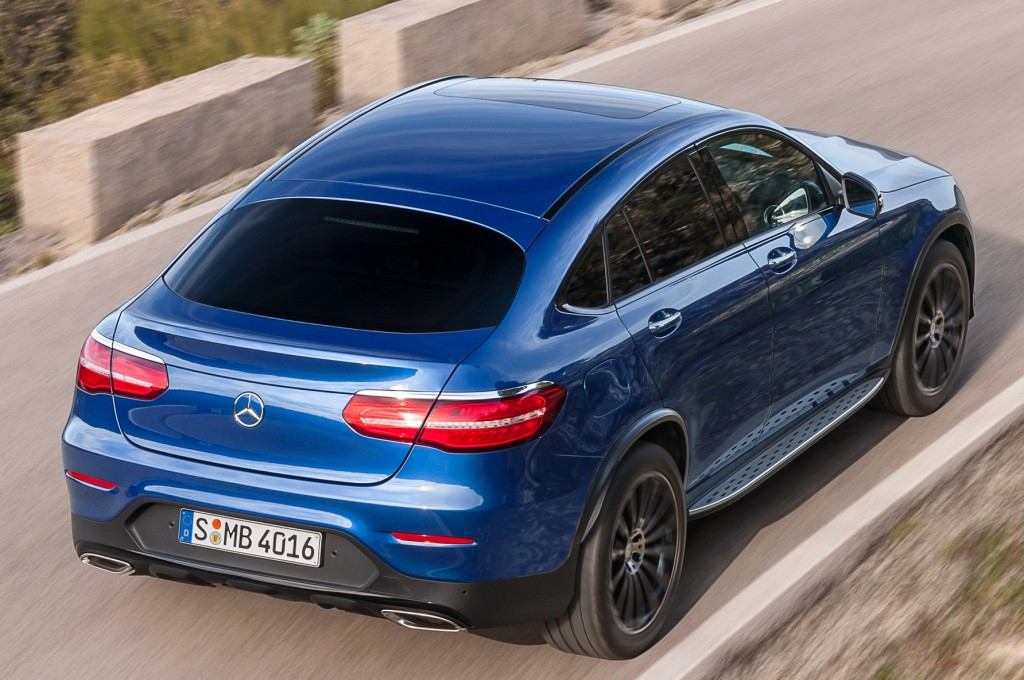 2017 mercedes benz glc coupe starts production in bremen autoevolution. Black Bedroom Furniture Sets. Home Design Ideas