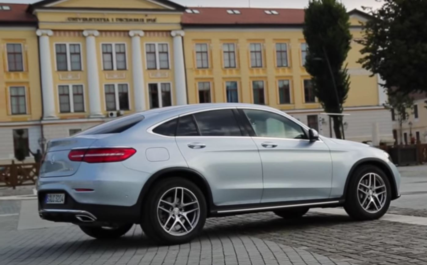 2017 Mercedes Glc 300 Coupe Sounds Like A Golf Gti Thanks