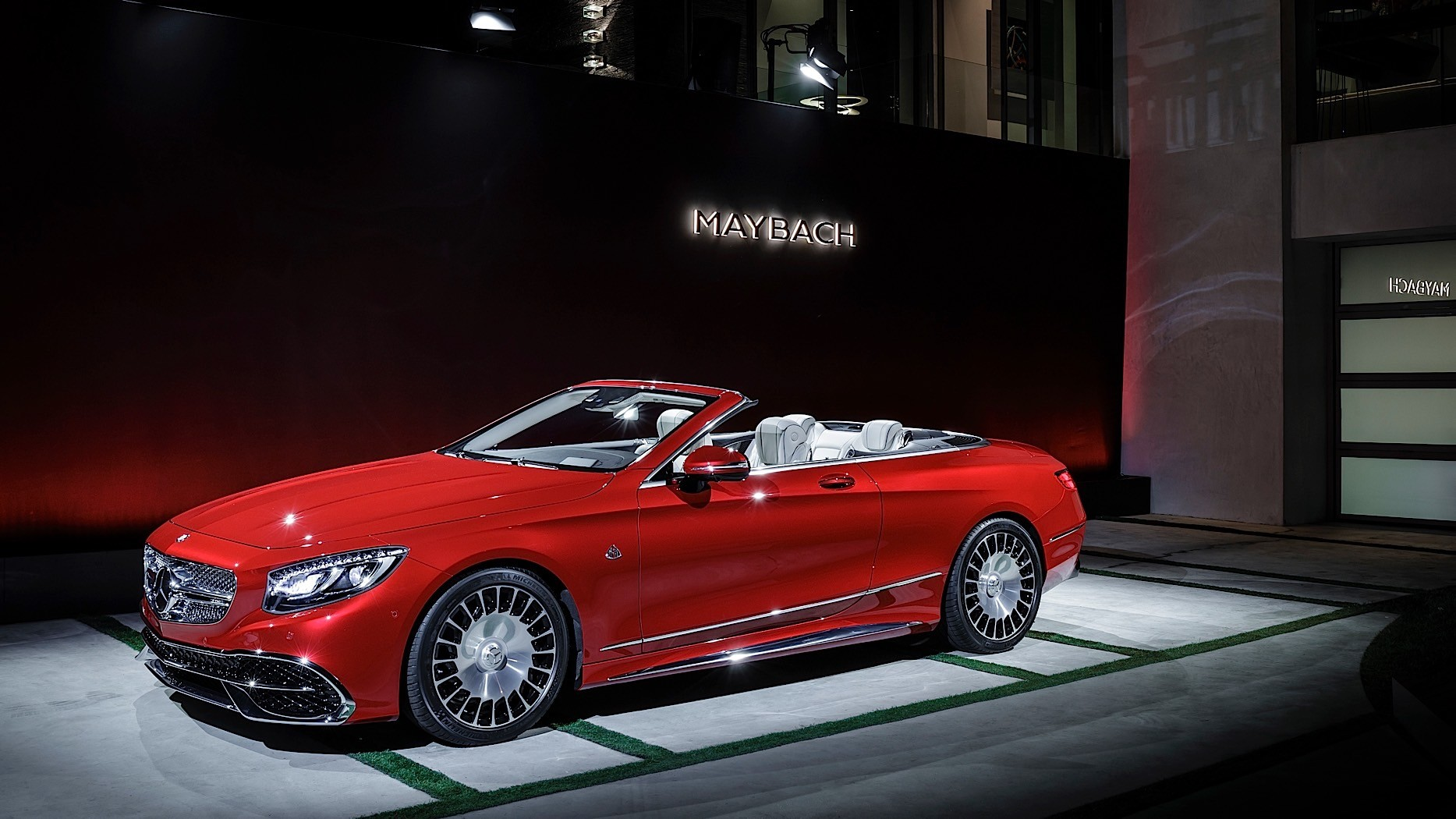 2017 mercedes maybach s650 cabriolet is a topless land for Mercedes benz maybach 6 price