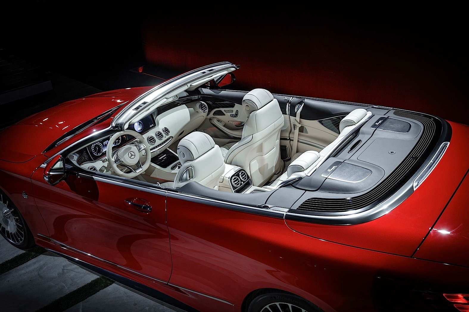 2017 Mercedes-Maybach S650 Cabriolet is a Topless Land ...