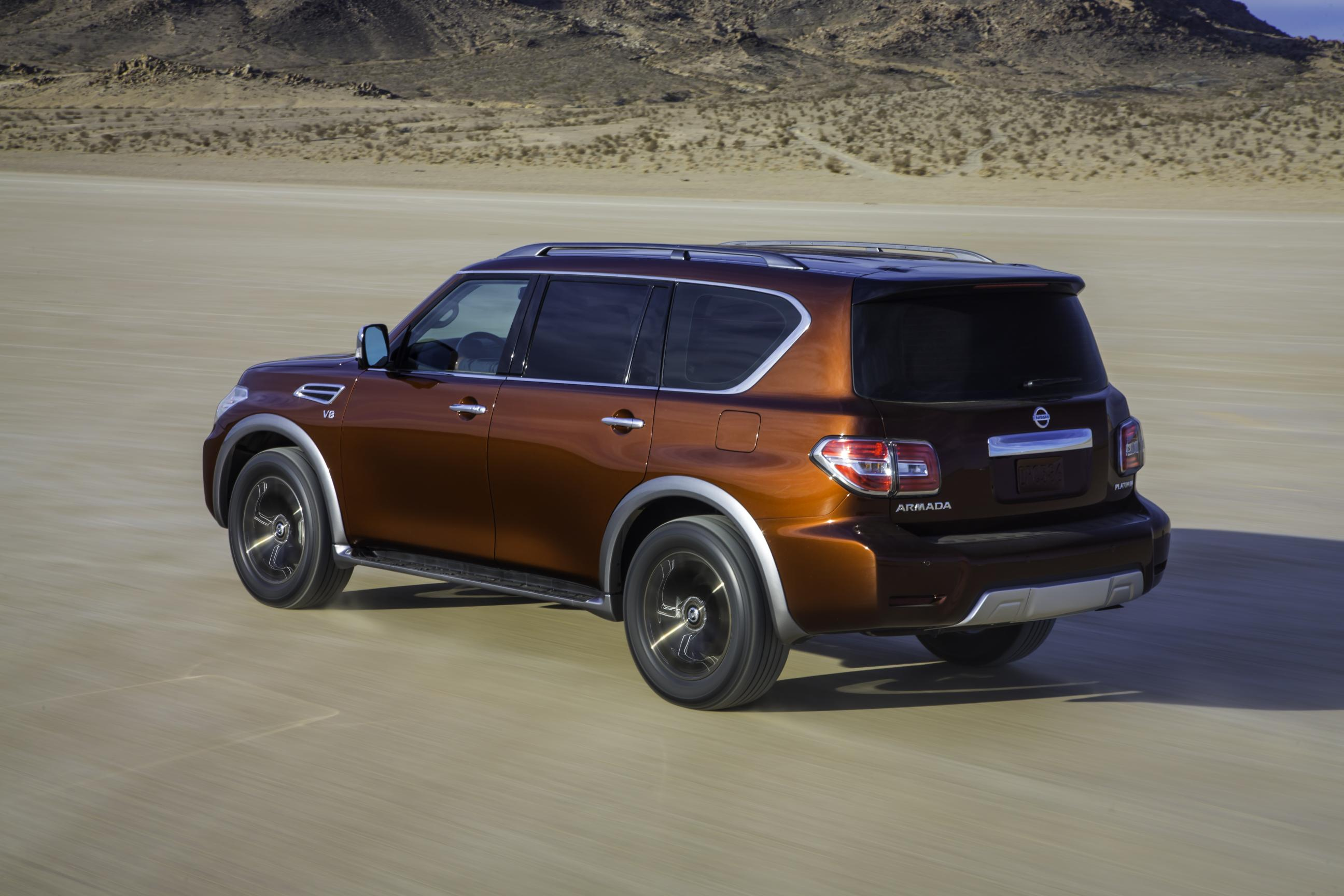 2017 nissan armada is in fact a nissan patrol y62 autoevolution. Black Bedroom Furniture Sets. Home Design Ideas