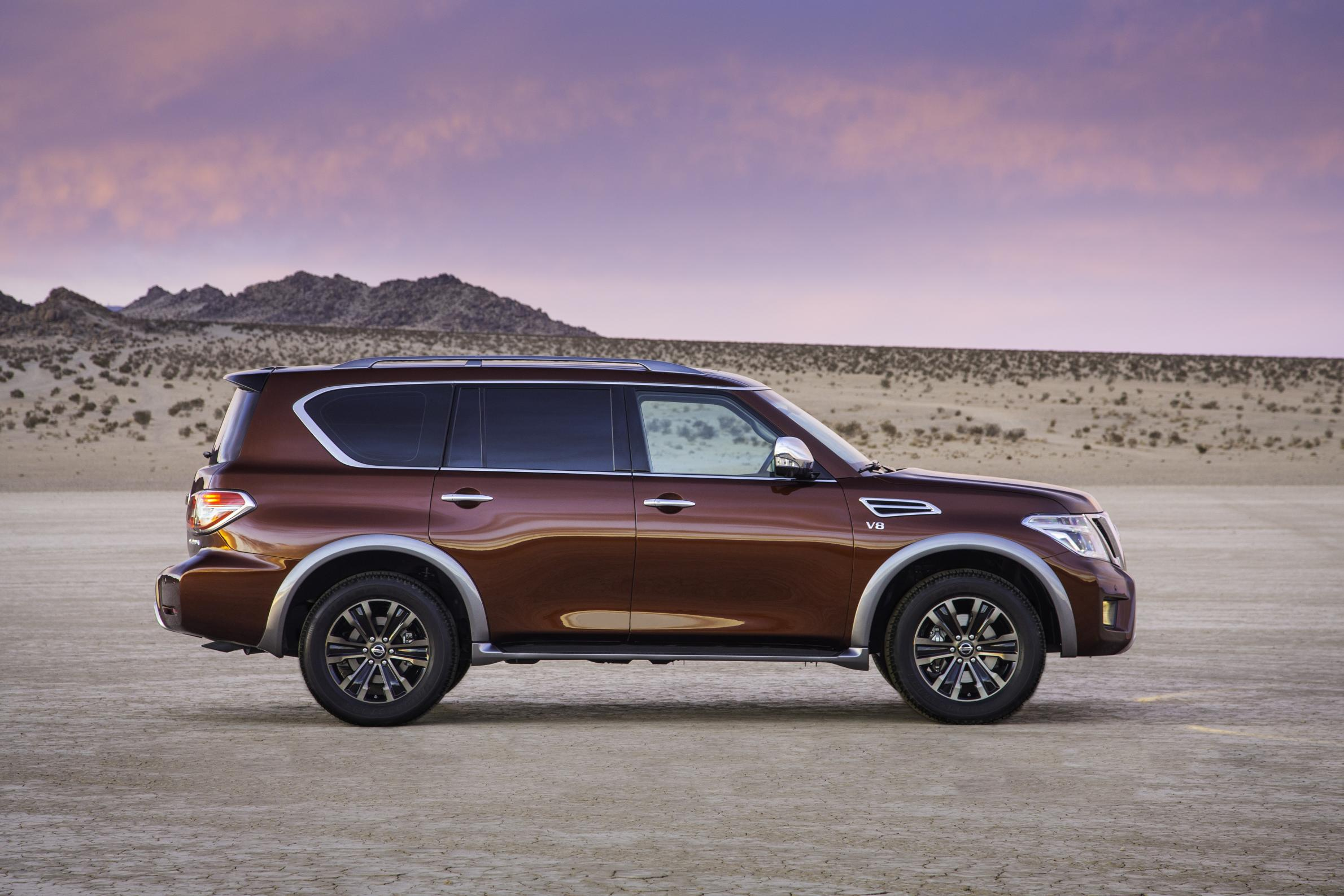2017 Nissan Armada Is in Fact a Nissan Patrol Y62 ...