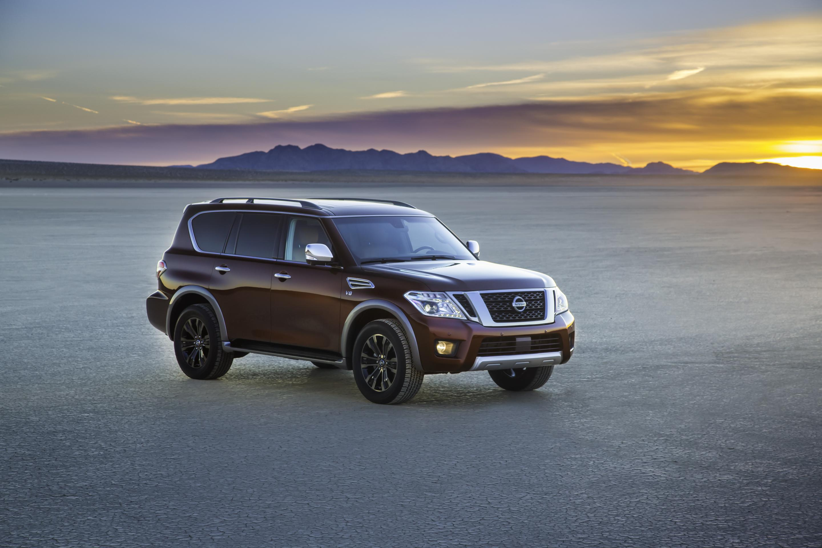 2017 Nissan Armada Is In Fact A Nissan Patrol Y62