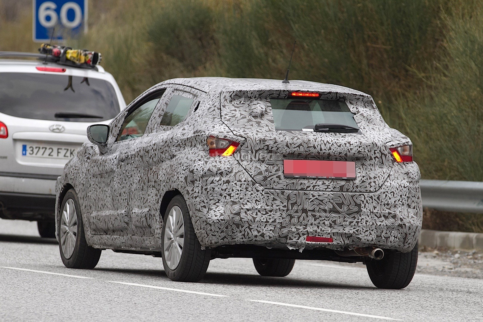 2017 nissan micra spied in spain autoevolution