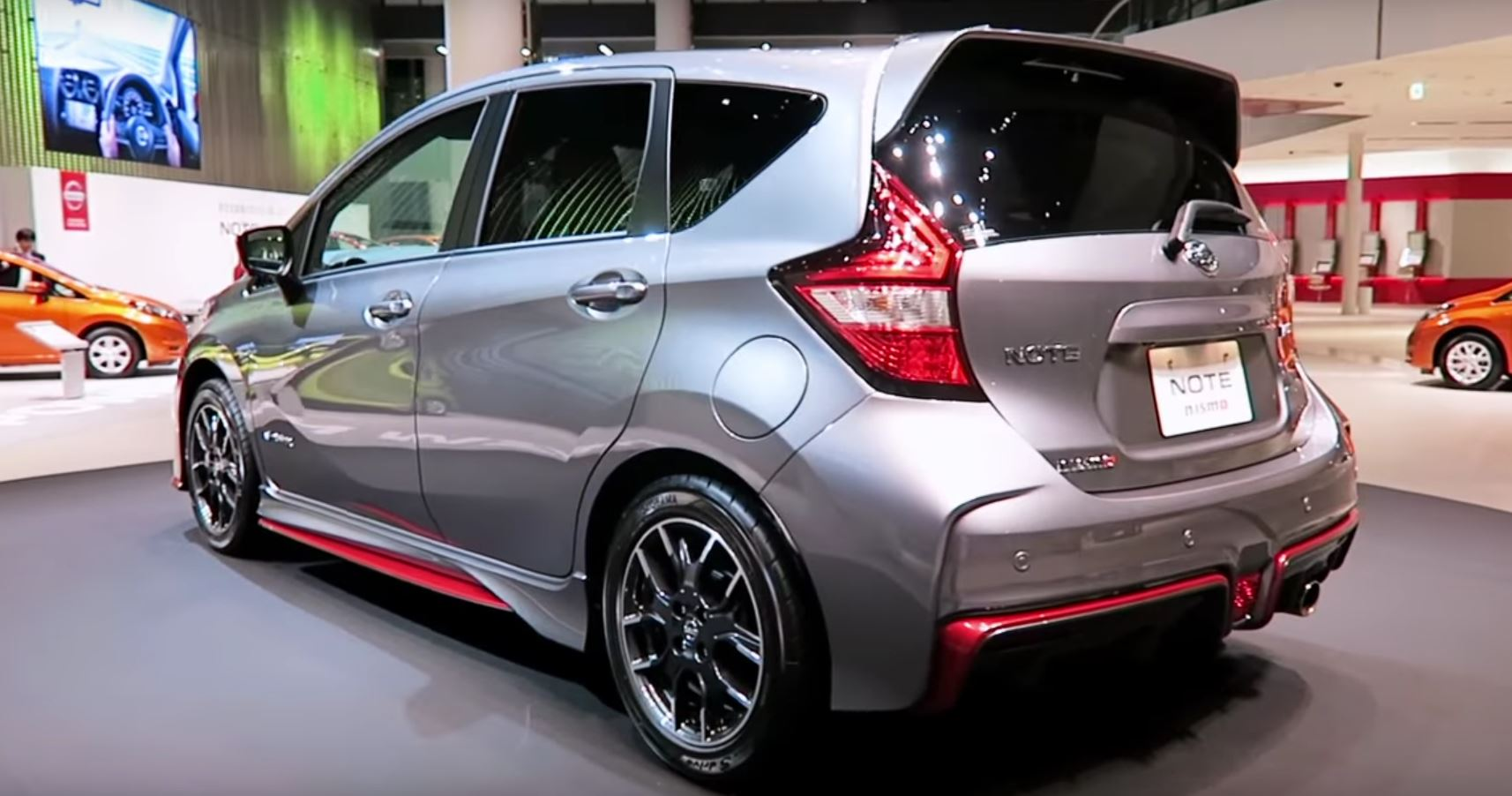 2017 Nissan Note e-Power Nismo Is Green and Hot at the ...