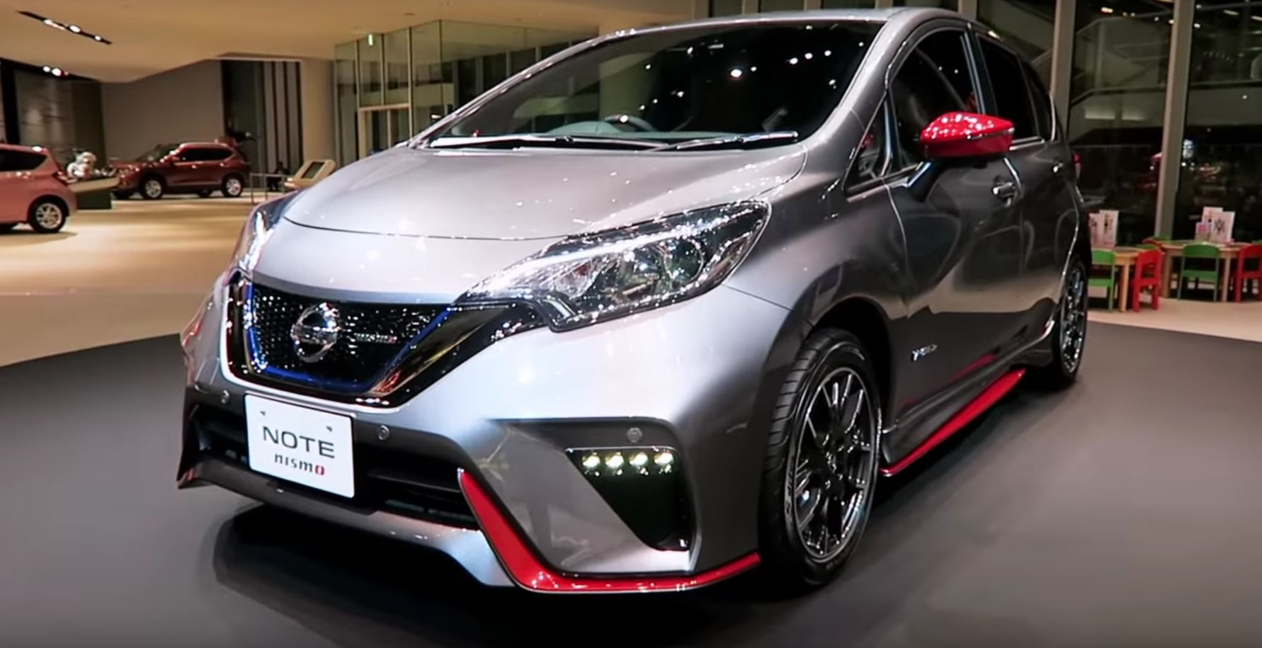 2017 Nissan Note E Power Nismo Is Green And Hot At The