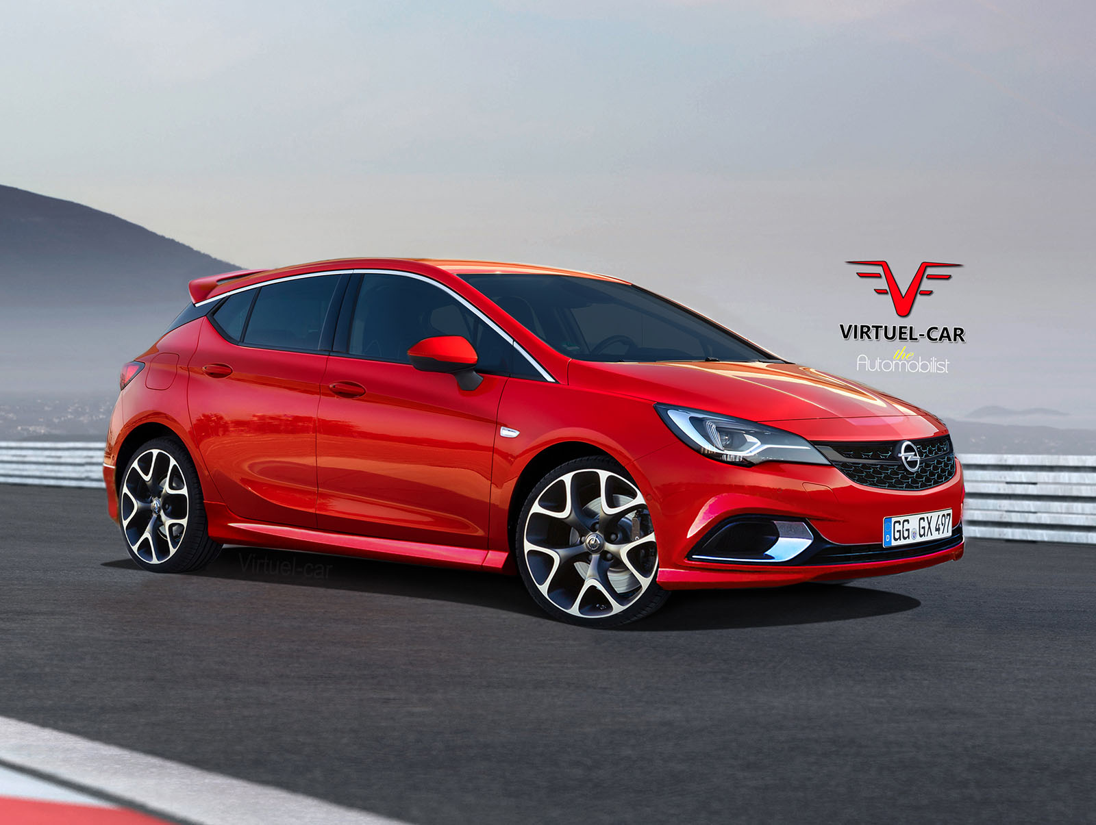 2017 opel astra opc gets rendered proves hot hatches are. Black Bedroom Furniture Sets. Home Design Ideas
