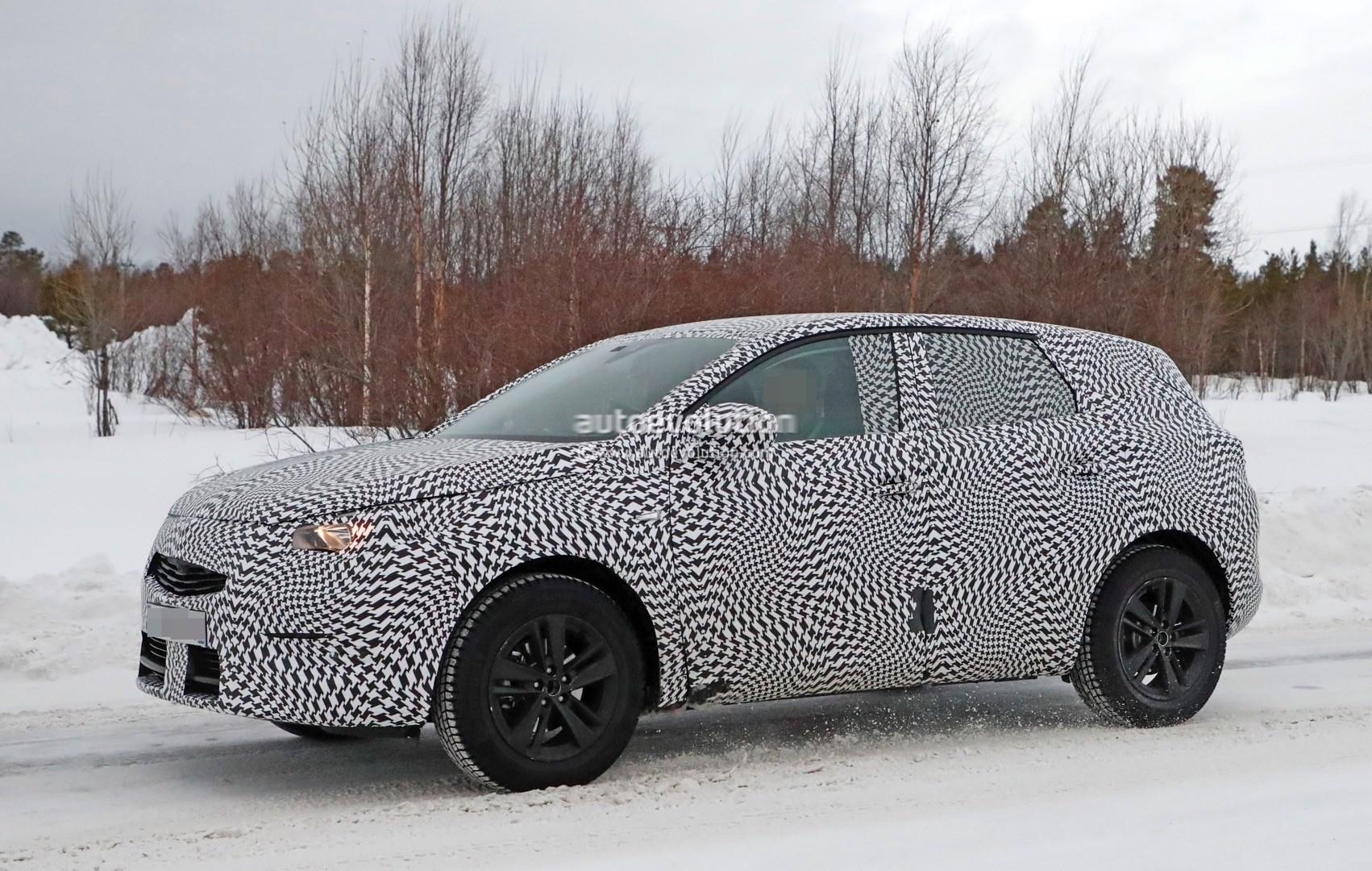 2017 Opel Grandland X Caught Cold Weather Testing