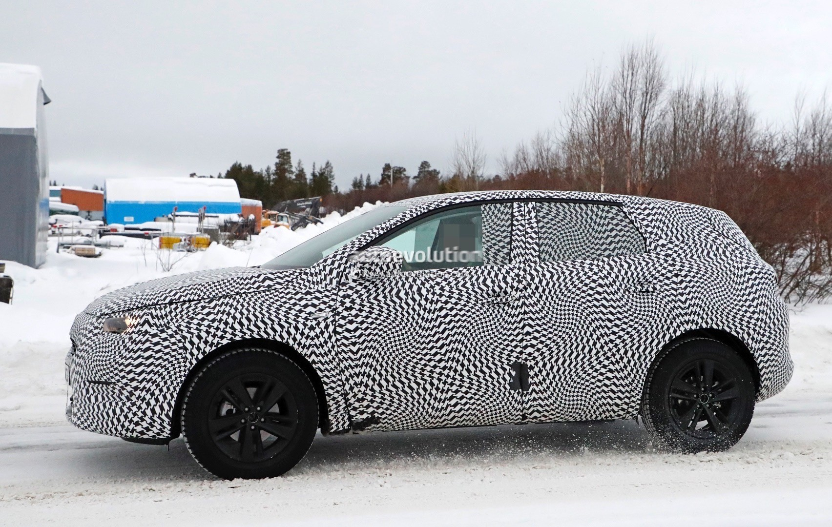 2017 Opel Grandland X Caught Cold Weather Testing
