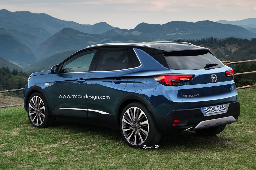 2017 Opel Grandland X Rendering Is a Peugeot in Disguise - autoevolution