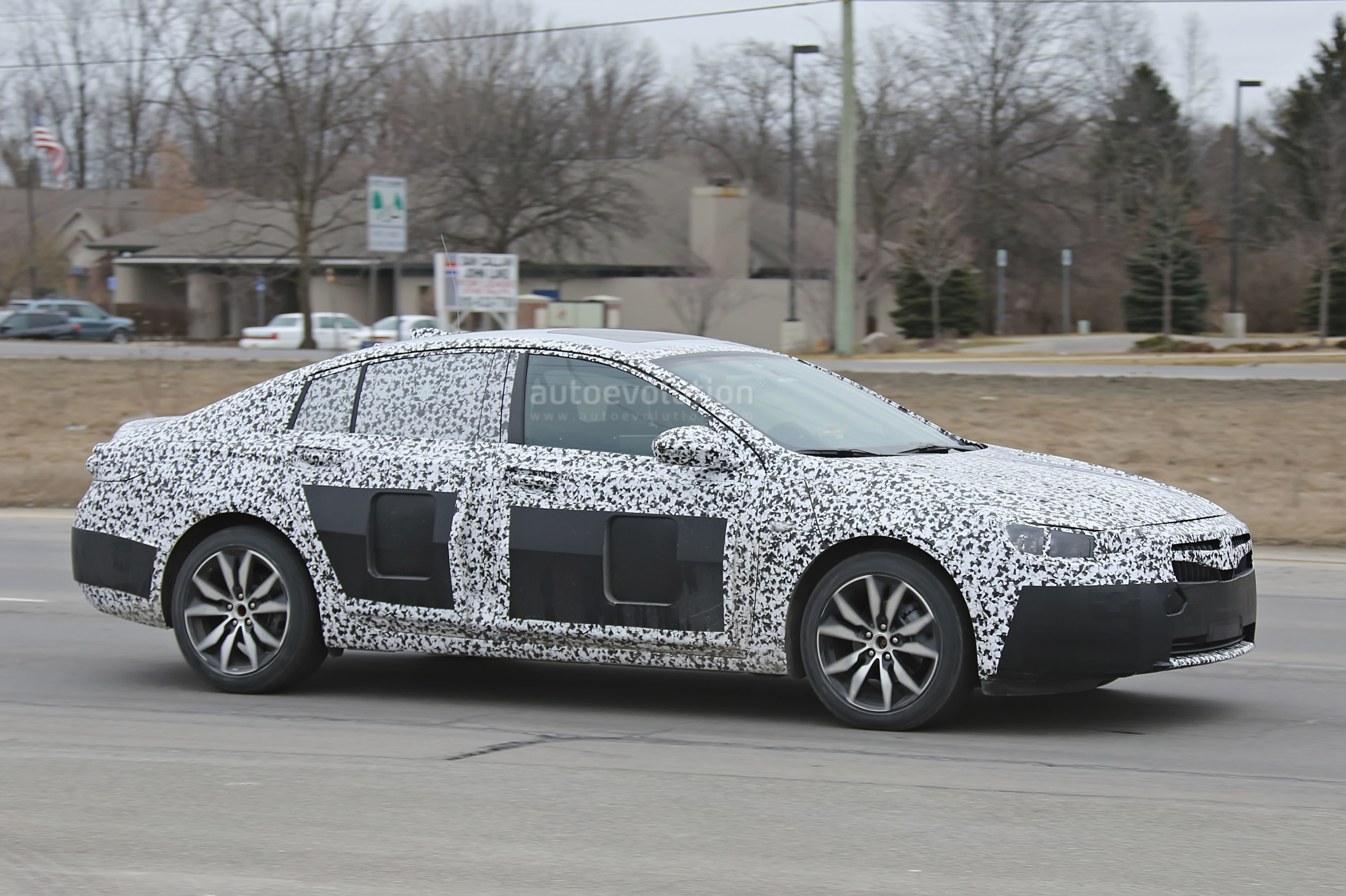 Creative 2017 Opel Insignia Spied Sans Camouflage Looks All Grown Up