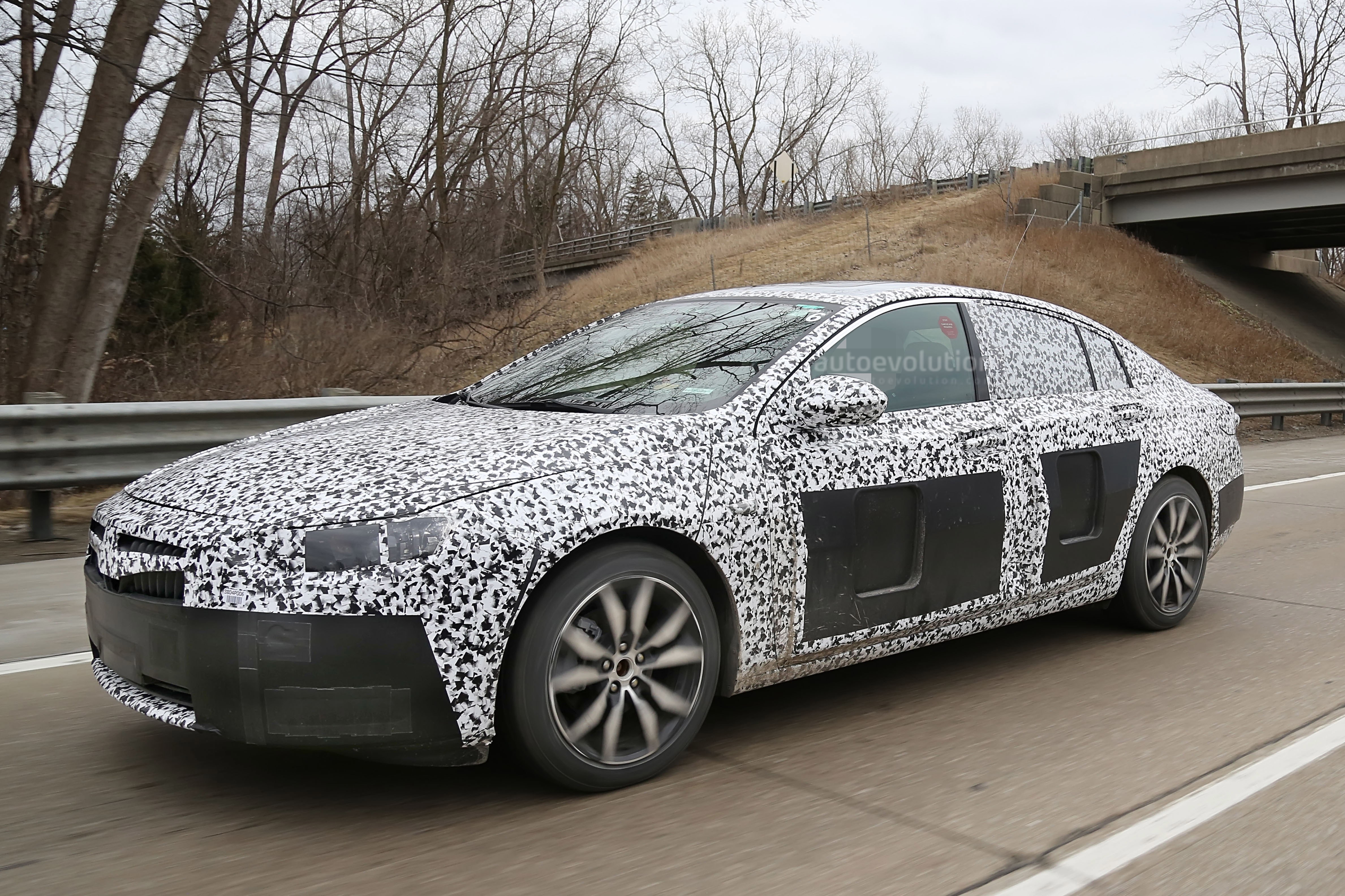 Model 2017 Opel Insignia Spied Sans Camouflage Looks All Grown Up
