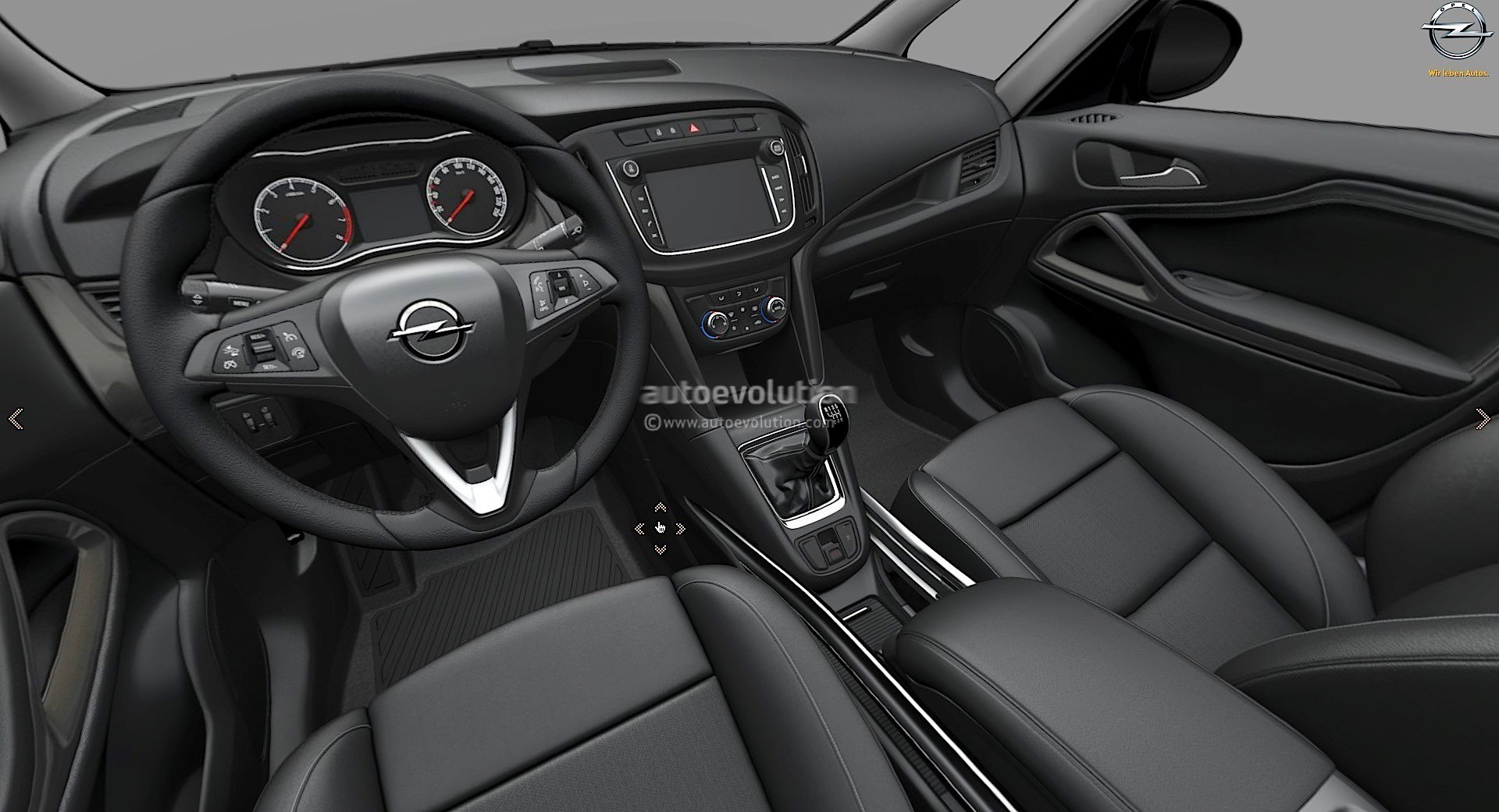 2017 opel zafira facelift leaked on gm website here are for Interior opel astra 2017