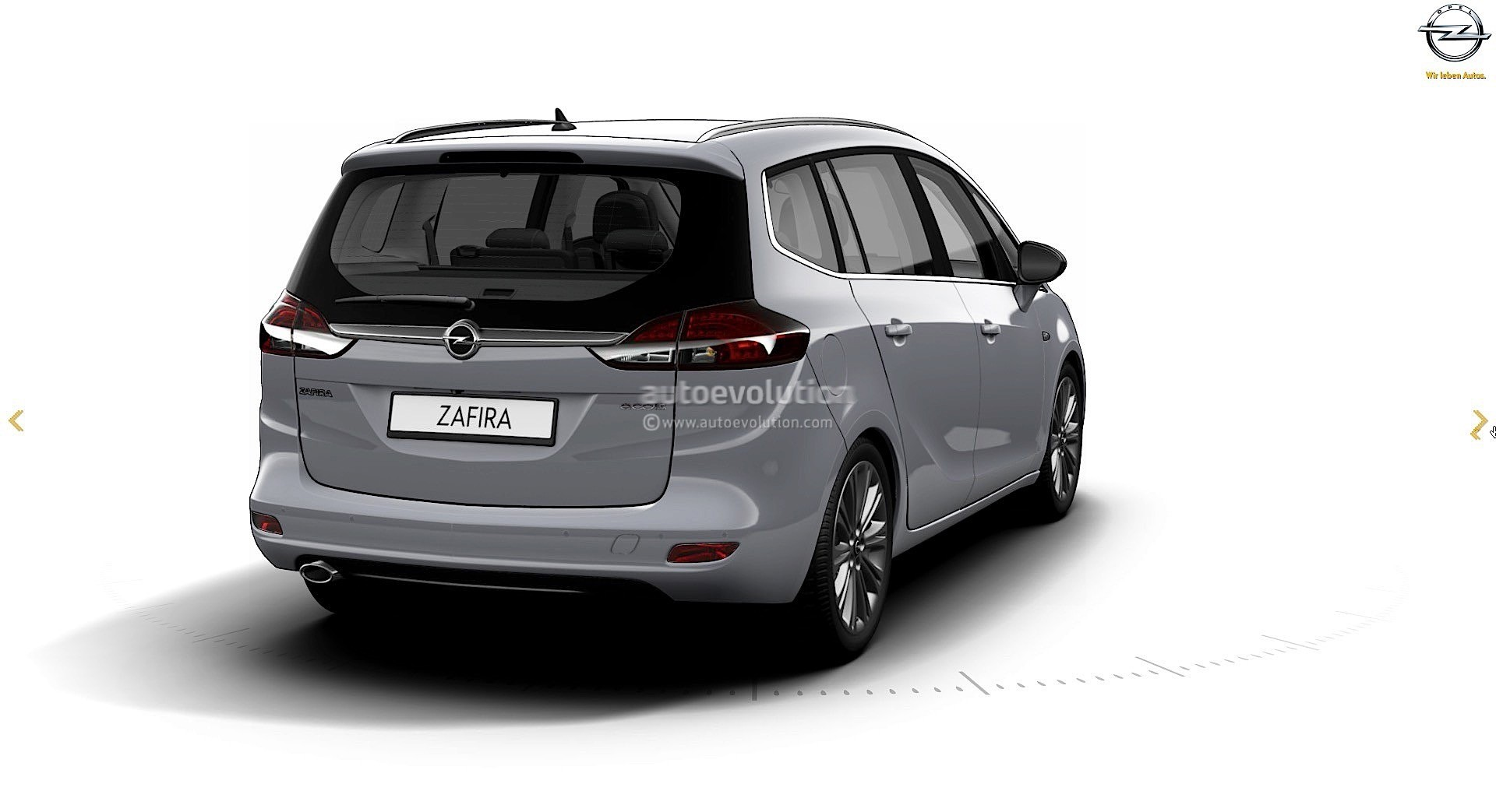 2017 opel zafira facelift leaked on gm website here are the first pics autoevolution. Black Bedroom Furniture Sets. Home Design Ideas