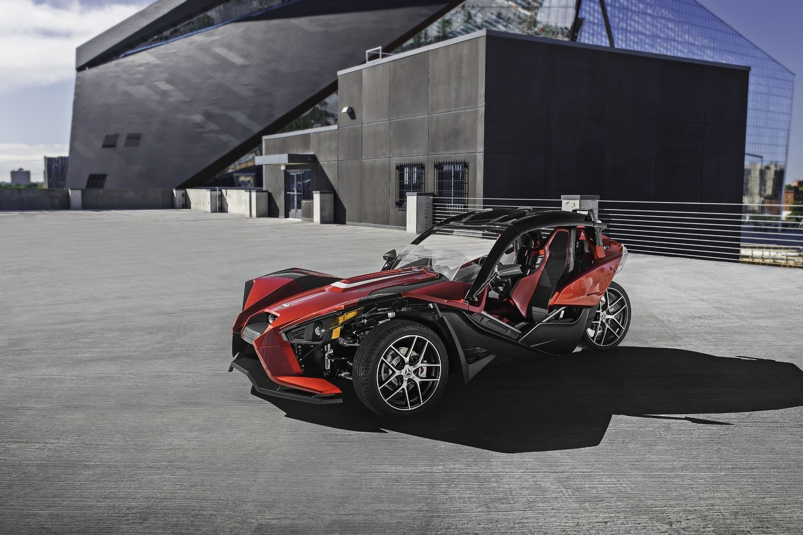 2017 Polaris Slingshot Comes In Premium Trim And More