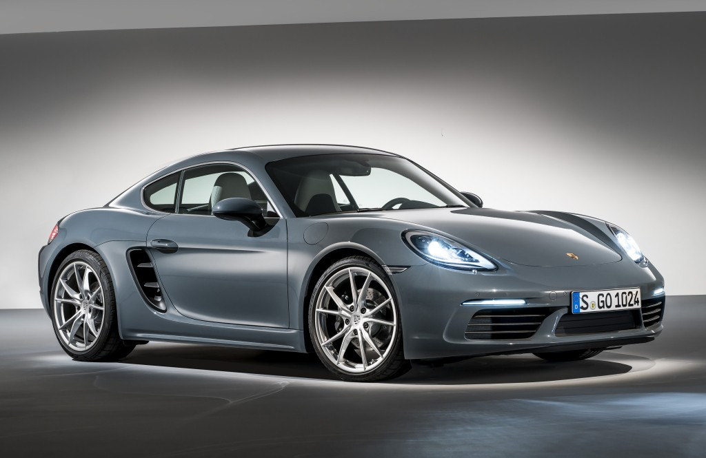 2017 porsche 718 cayman goes into production autoevolution. Black Bedroom Furniture Sets. Home Design Ideas