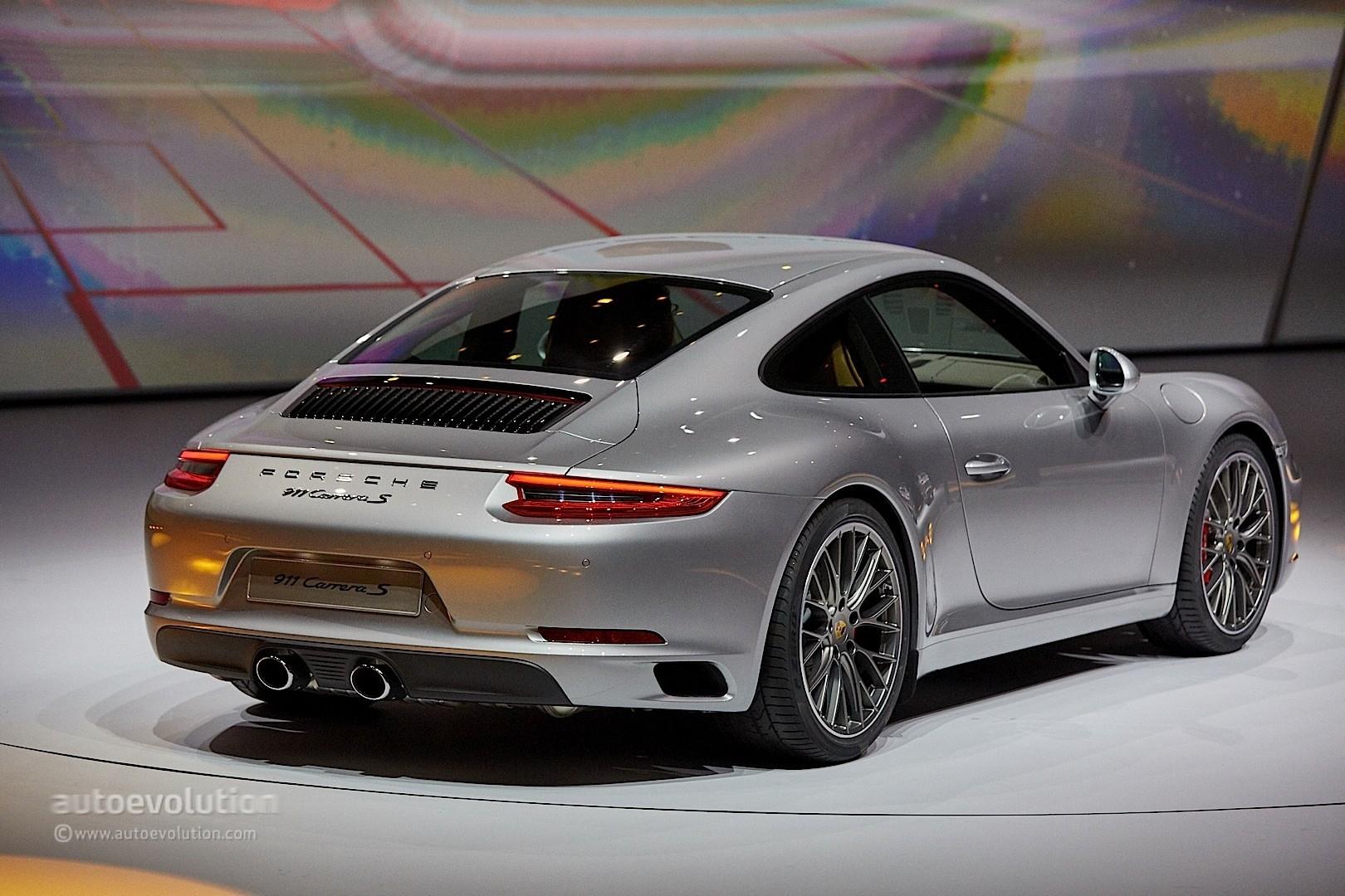 2017 Porsche 911 In Frankfurt
