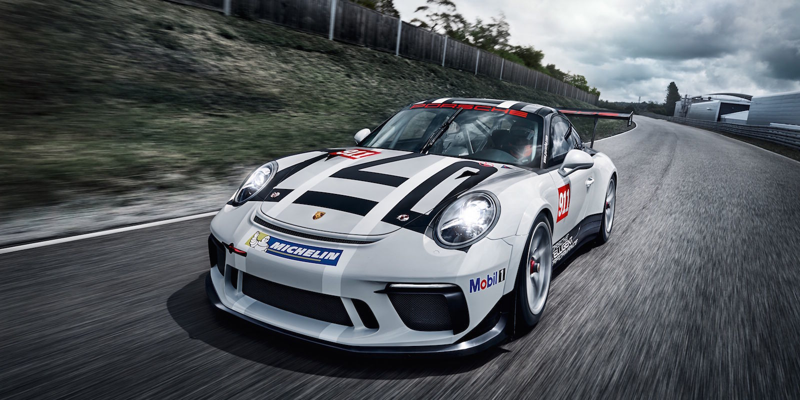 2017 porsche 911 gt3 cup racecar is a full motorcycle lighter than a gt3 rs pdk autoevolution. Black Bedroom Furniture Sets. Home Design Ideas