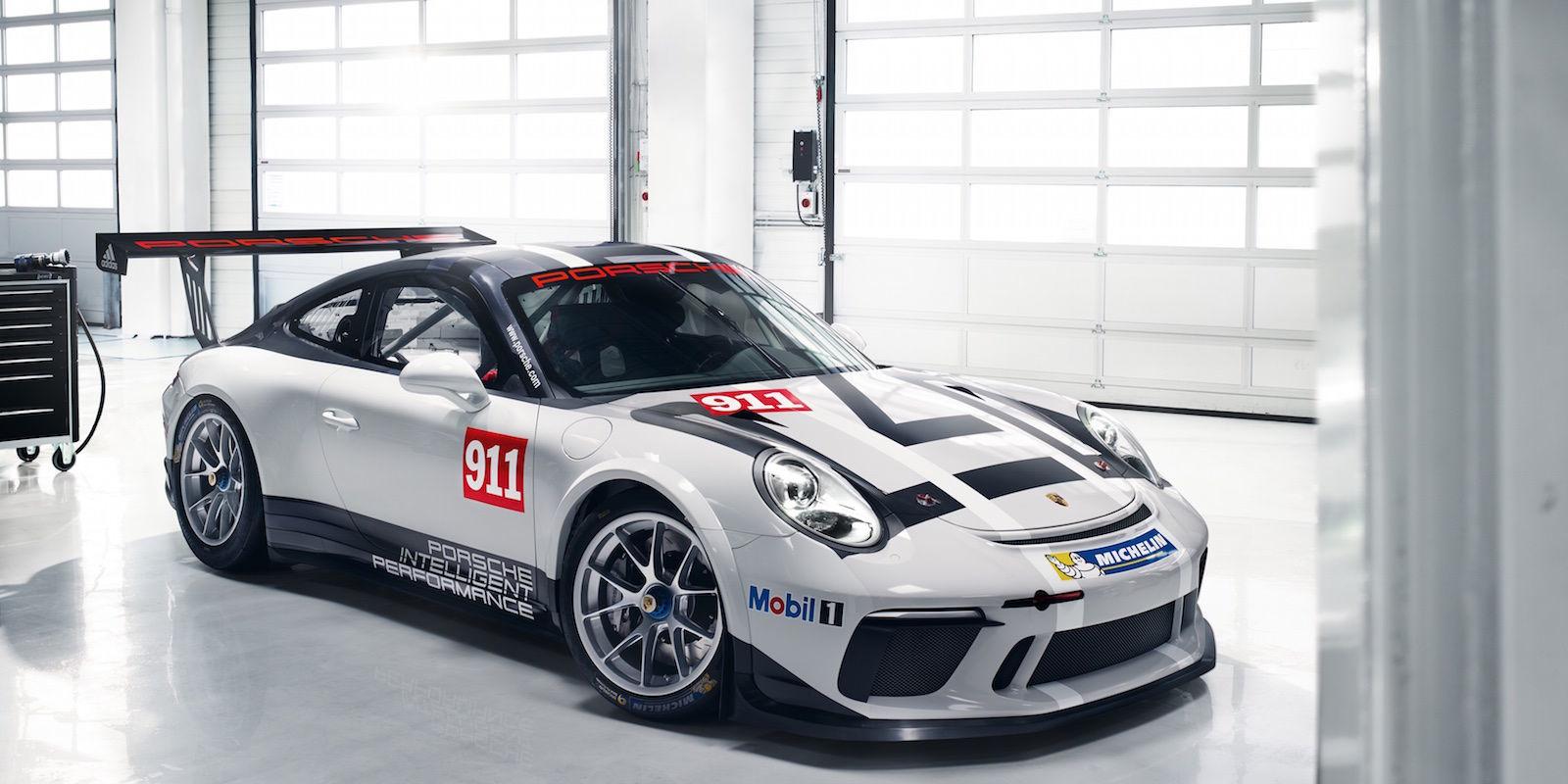 2017 Porsche 911 Gt3 Cup Racecar