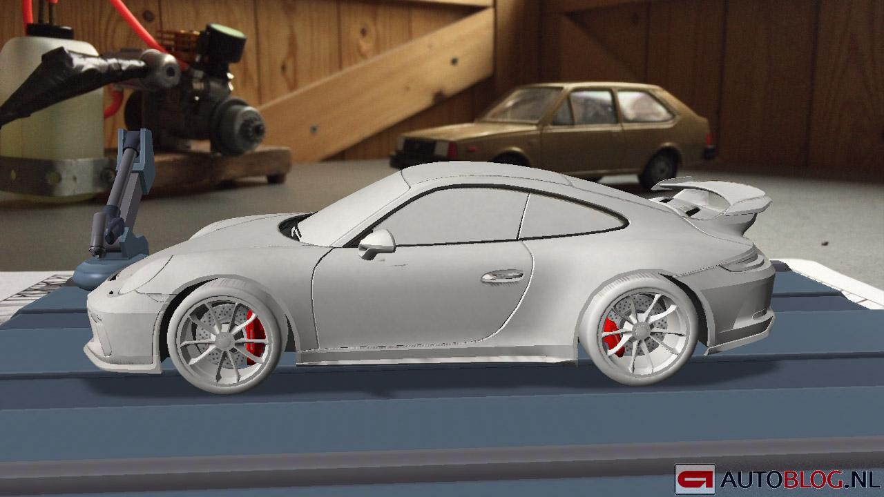 2017 Porsche 911 Gt3 Facelift 991 2 Looks Ready For