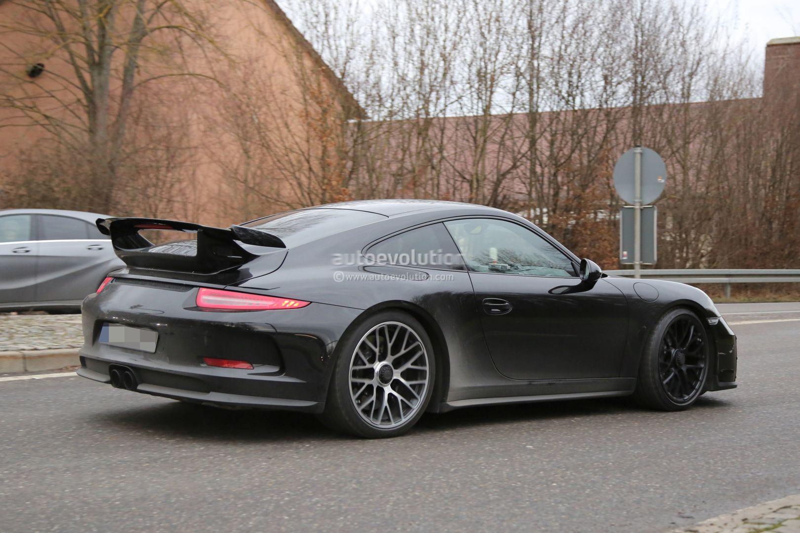 2017 porsche 911 gt3 facelift spied with a nose job should come later this year autoevolution. Black Bedroom Furniture Sets. Home Design Ideas