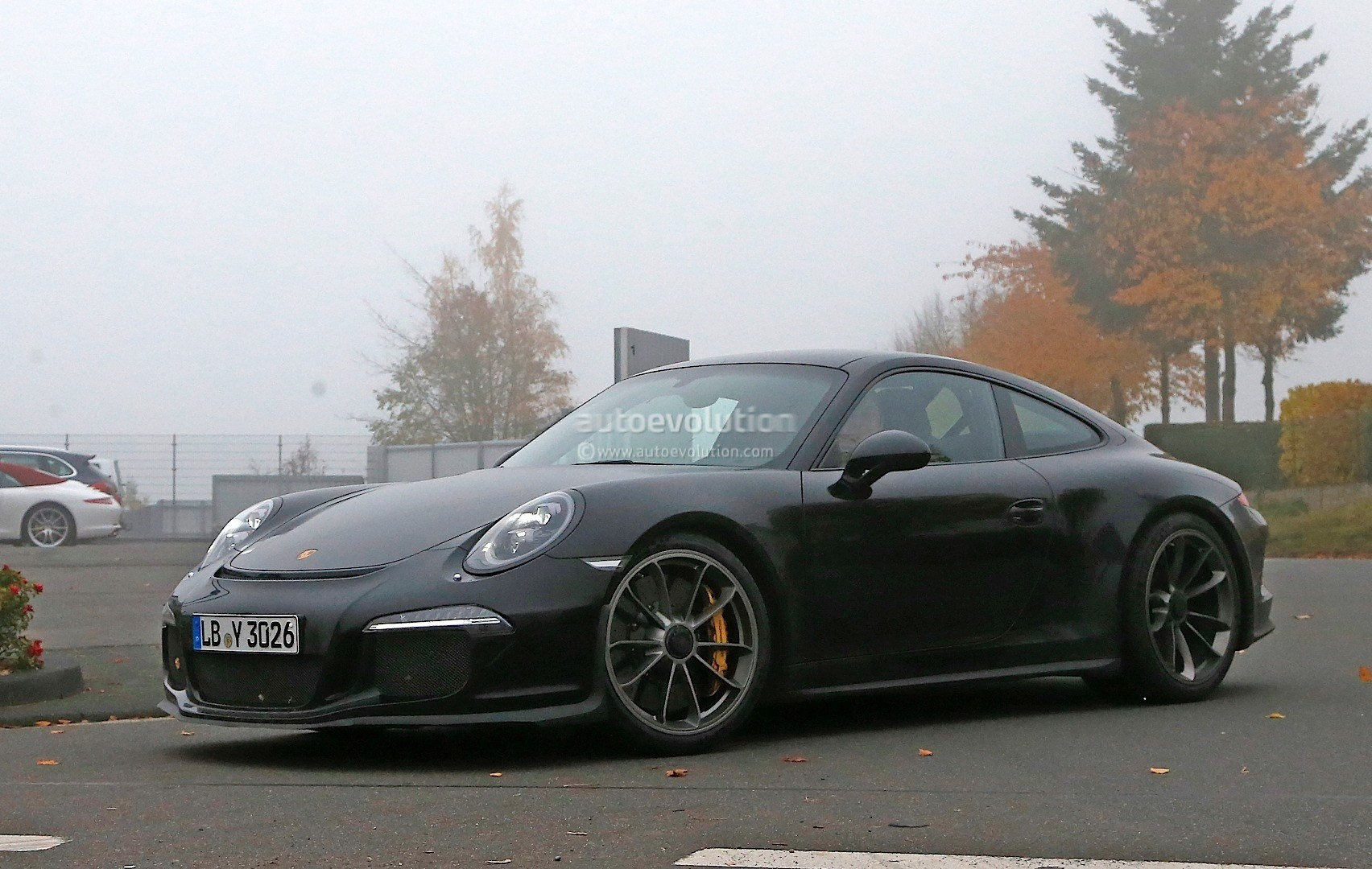 2017 porsche 911 r spied for the first time gt3 engine with a manual autoevolution. Black Bedroom Furniture Sets. Home Design Ideas