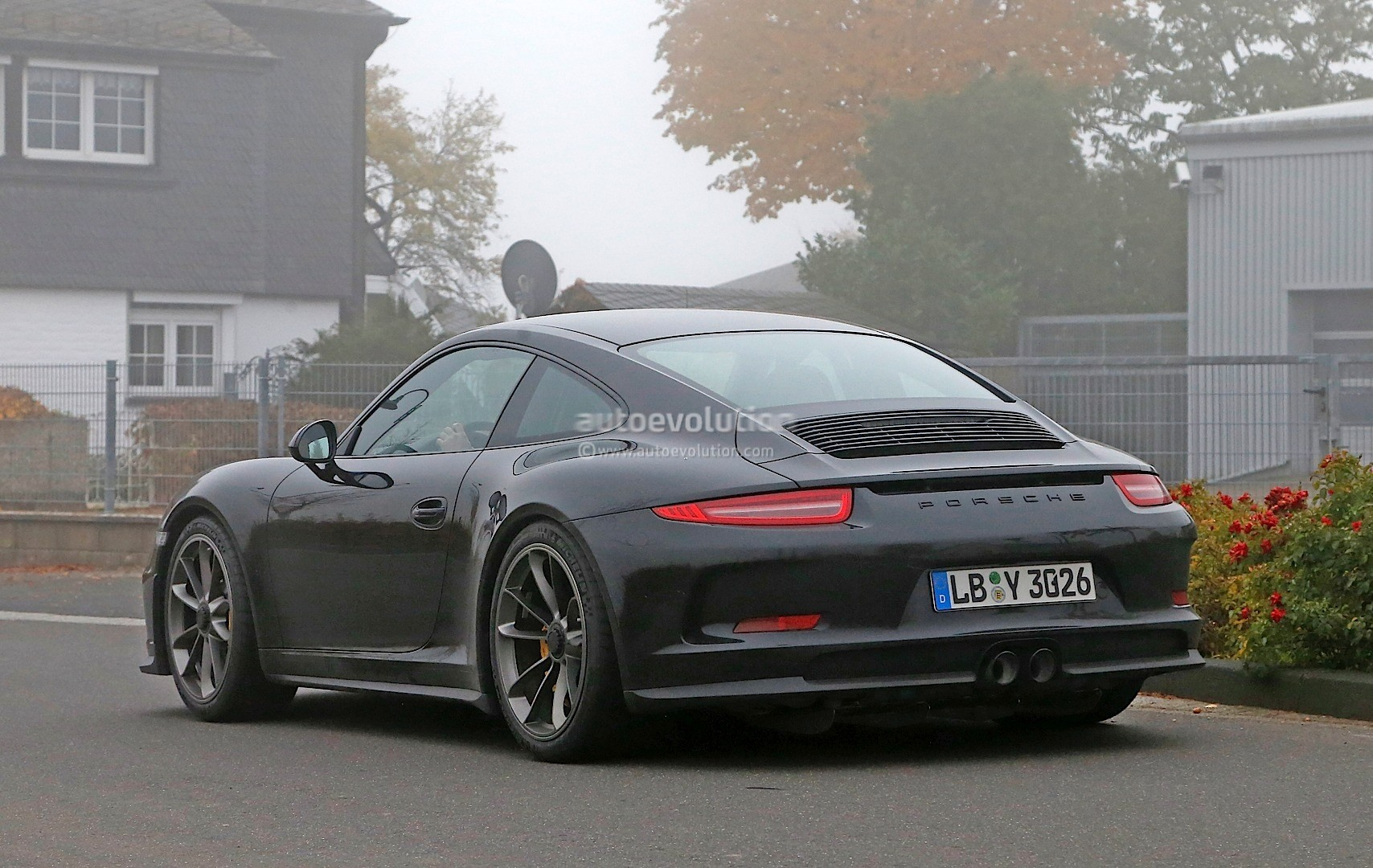 2017 Porsche 911 R Spied For The First Time  Gt3 Engine