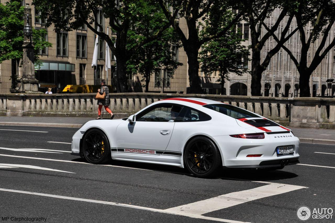 2017 Porsche 911 R Spotted In D 252 Sseldorf German Owner