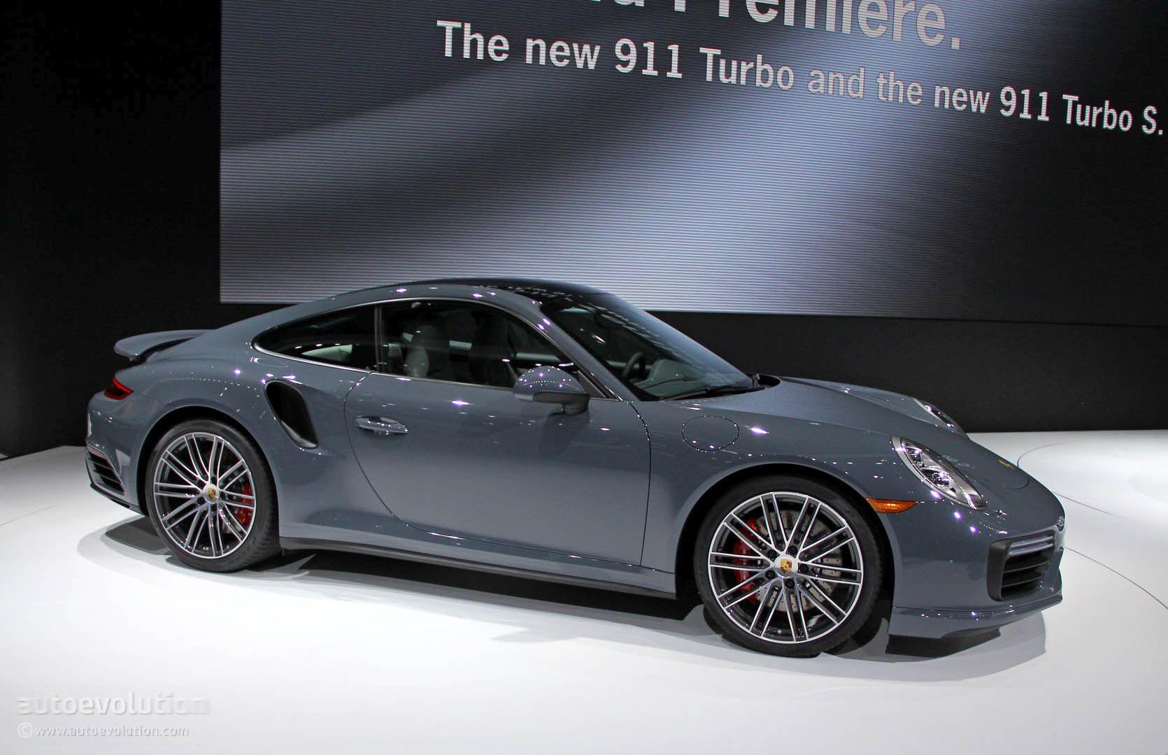 2017 porsche 911 turbo  turbo s bring their anti
