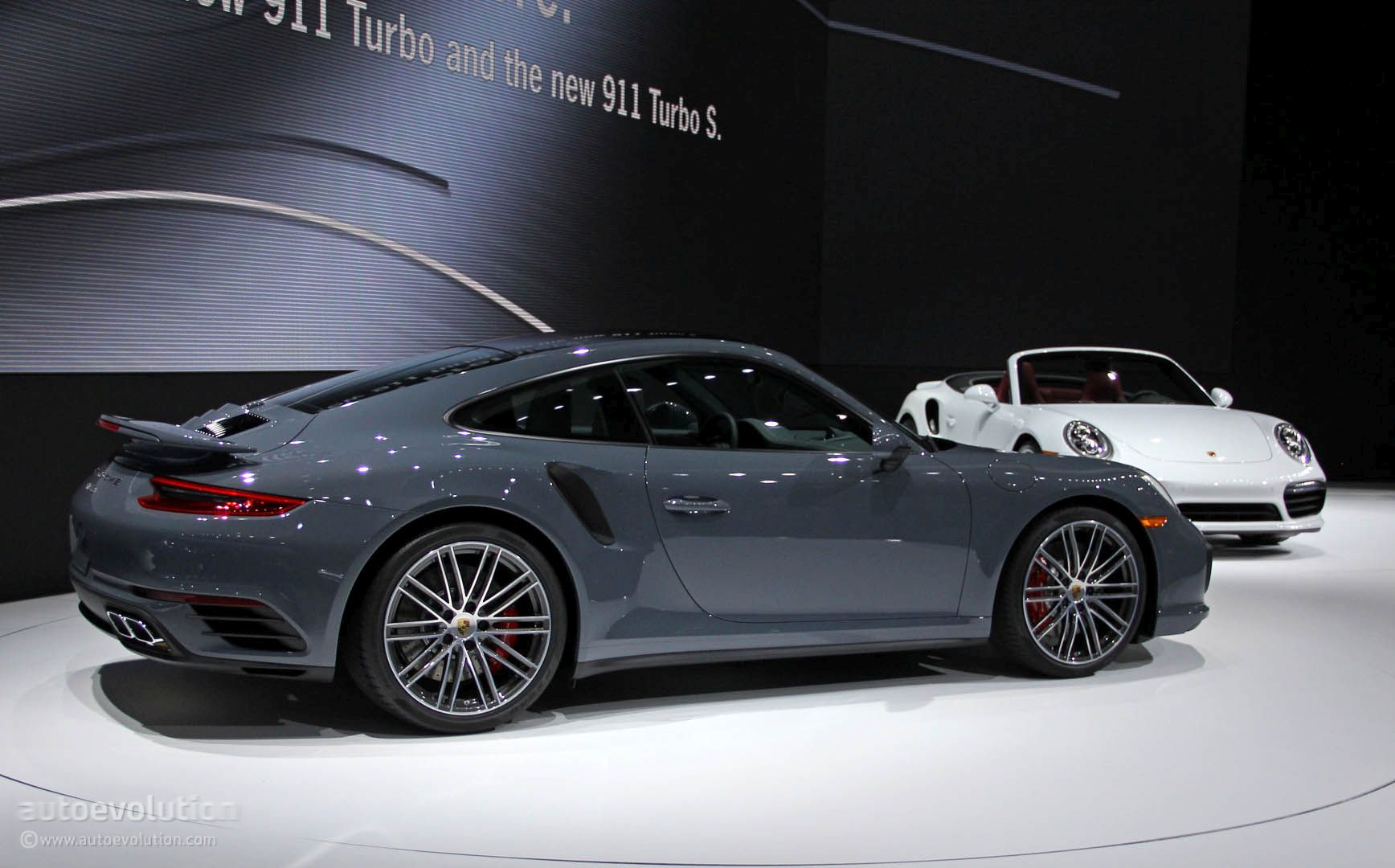 2017 porsche 911 turbo turbo s bring their anti lag tech wizardry to detroit autoevolution. Black Bedroom Furniture Sets. Home Design Ideas