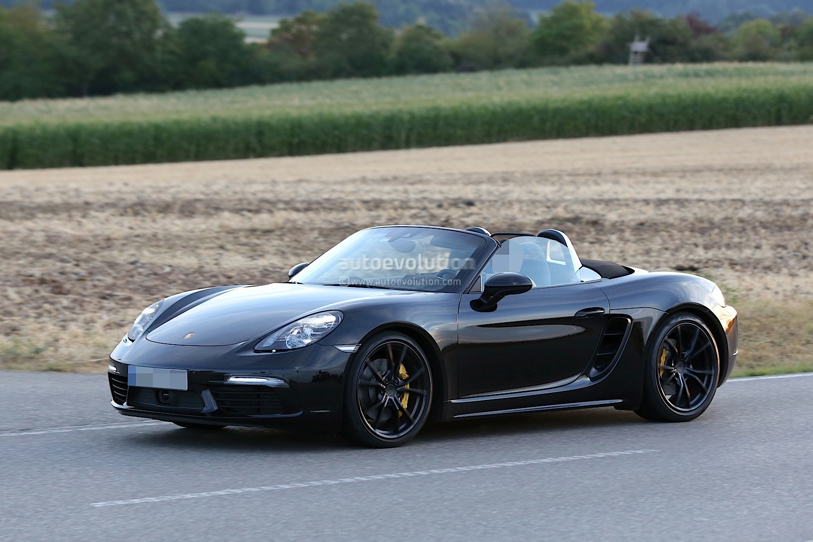 2017 Porsche Boxster Facelift Revealed In Latest Spyshots