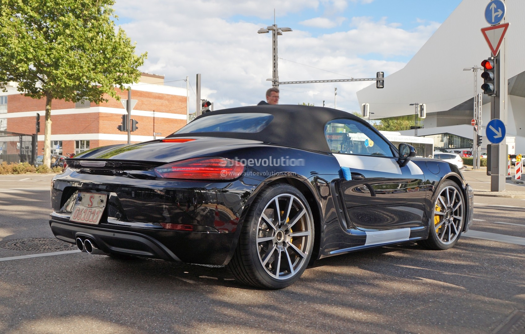 2017 Porsche Boxster Spied Nearly Camo Free In Stuttgart