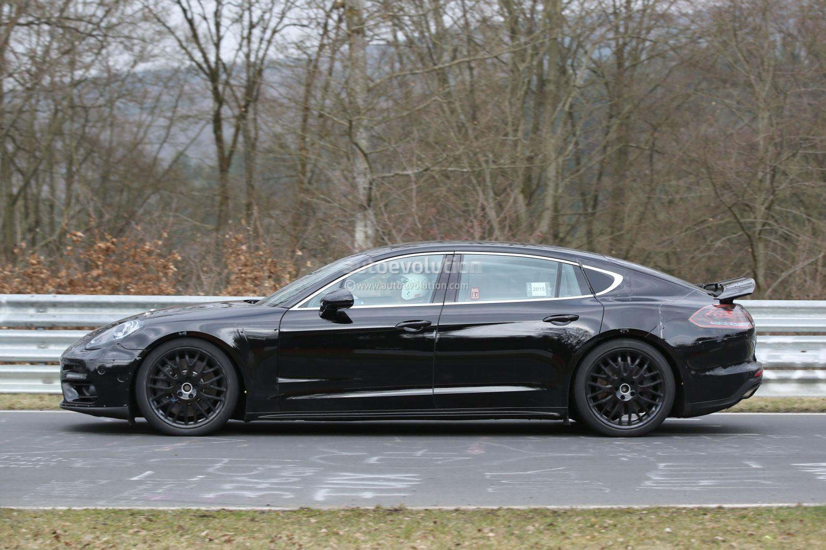 Porsche Driving Experience >> 2017 Panamera Executive Nurburgring Spyshots: How Porsche Plans to Reinvent the Panamera ...