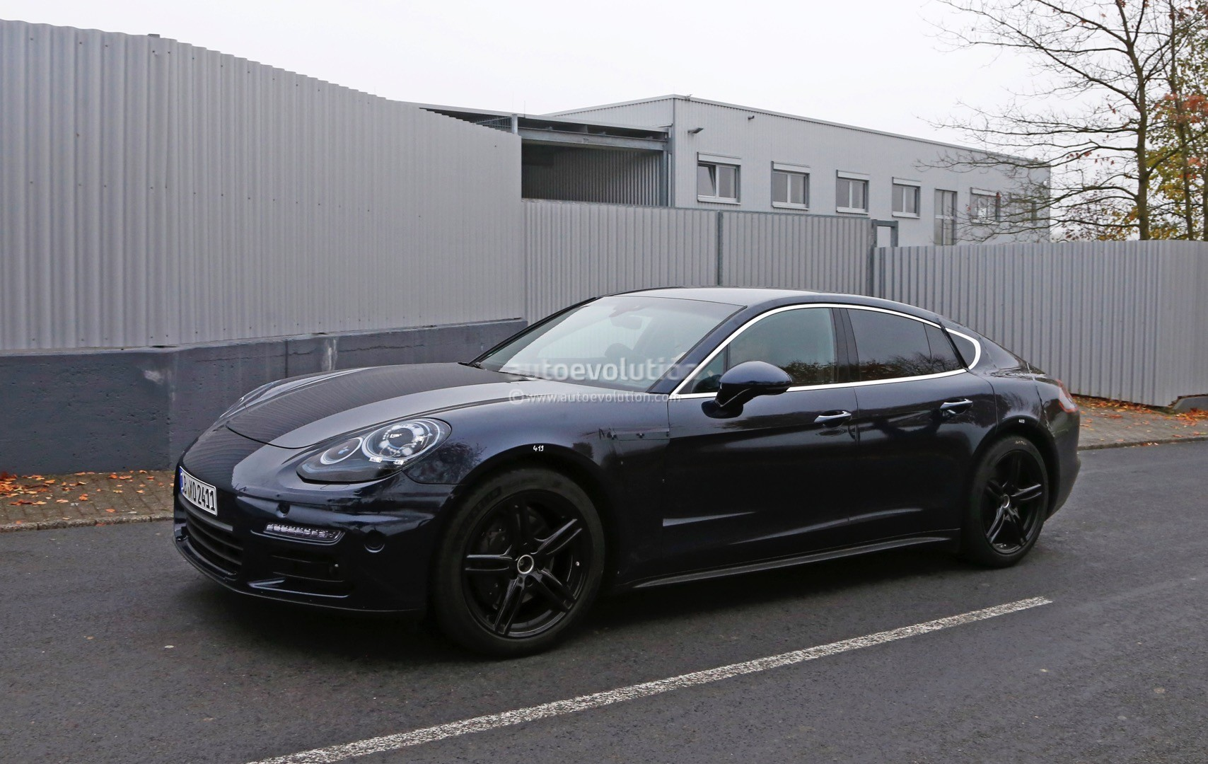 2017 porsche panamera spied close to nurburgring testing turbo engine autoevolution. Black Bedroom Furniture Sets. Home Design Ideas