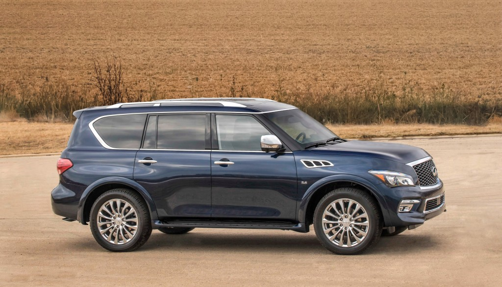 infiniti updates qx80 for 2017 model year priced from 63 850 autoevolution. Black Bedroom Furniture Sets. Home Design Ideas
