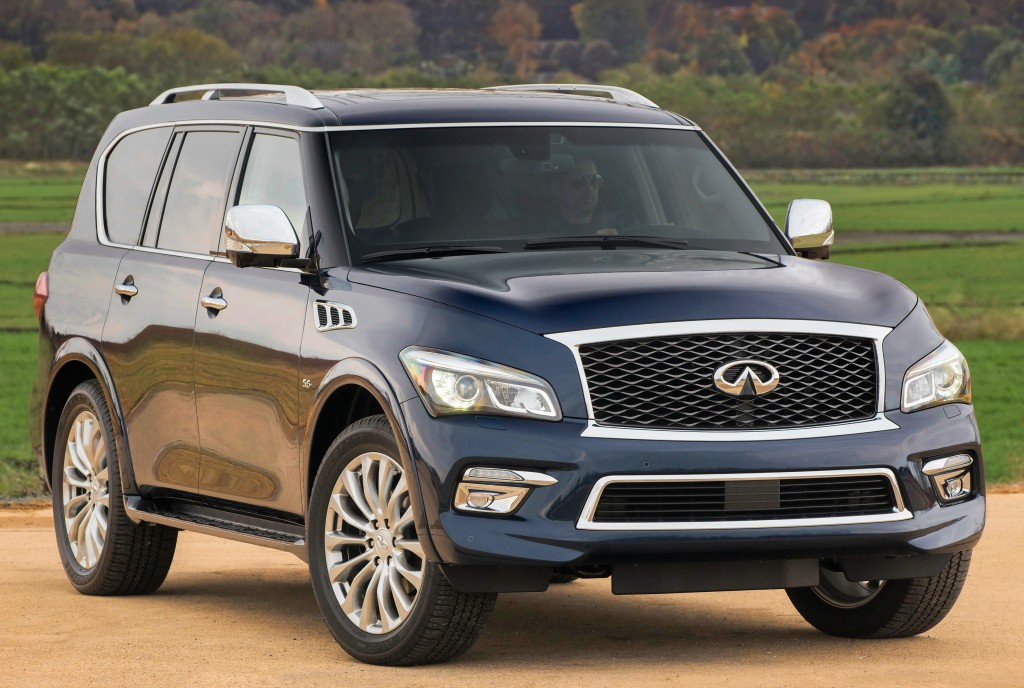 BMW X5 Towing Capacity >> Infiniti Updates QX80 for 2017 Model Year, Priced from ...