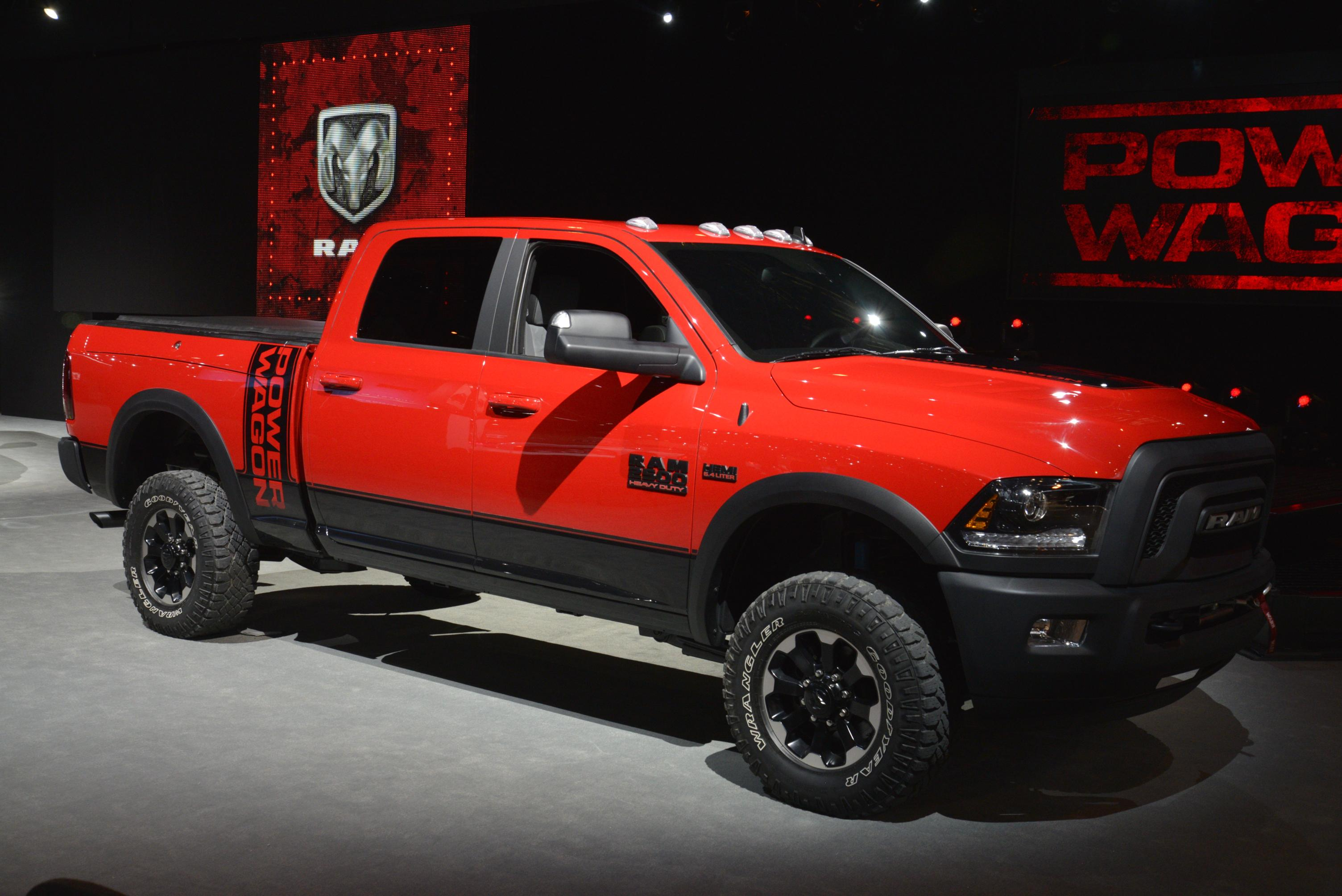 New 2017 Ram Power Wagon Available Fall 2016 2017 - 2018