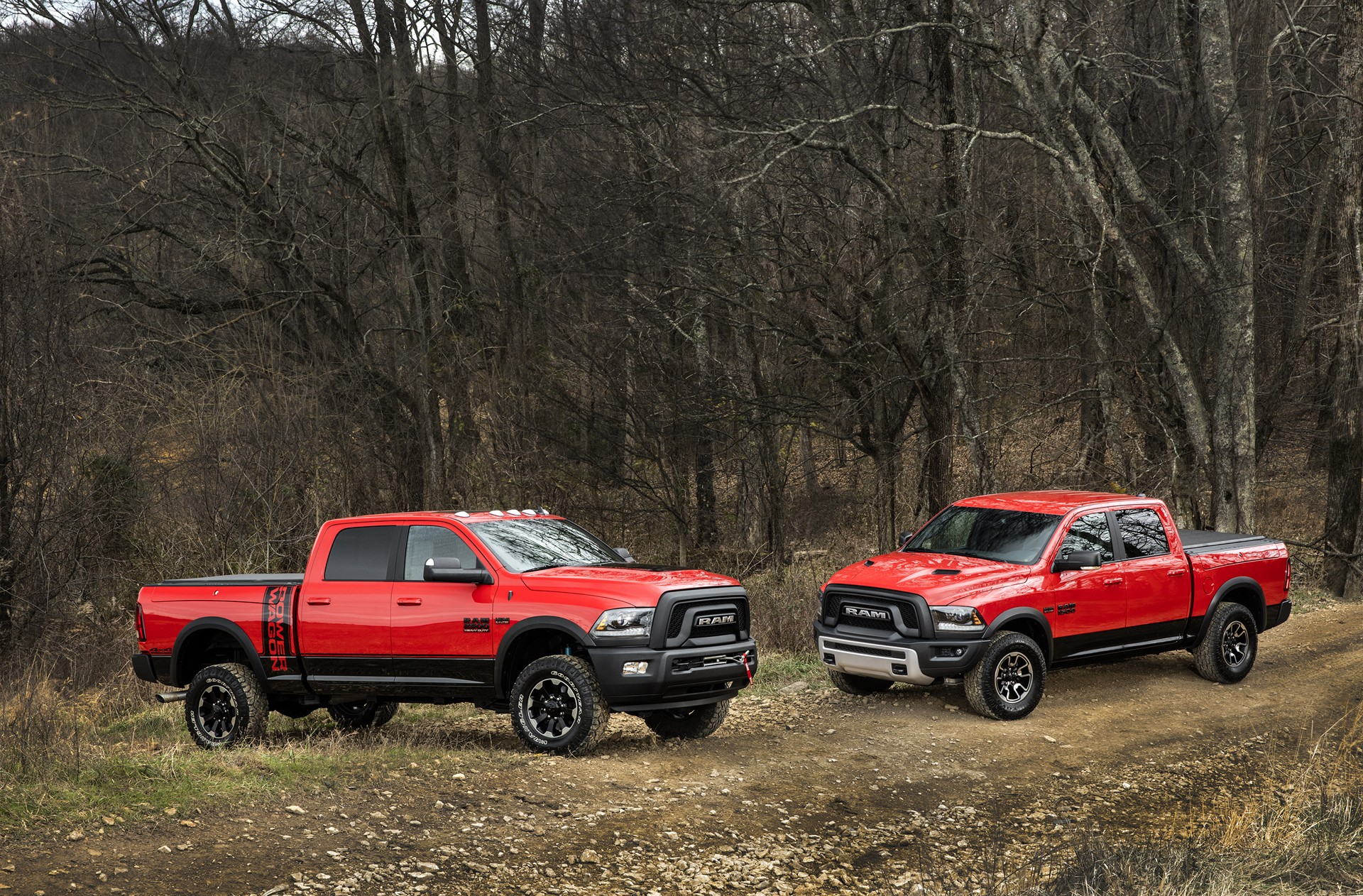 Ford Racing Apparel >> 2017 Ram Power Wagon Ditches Chrome Grille for Blacked-Out ...