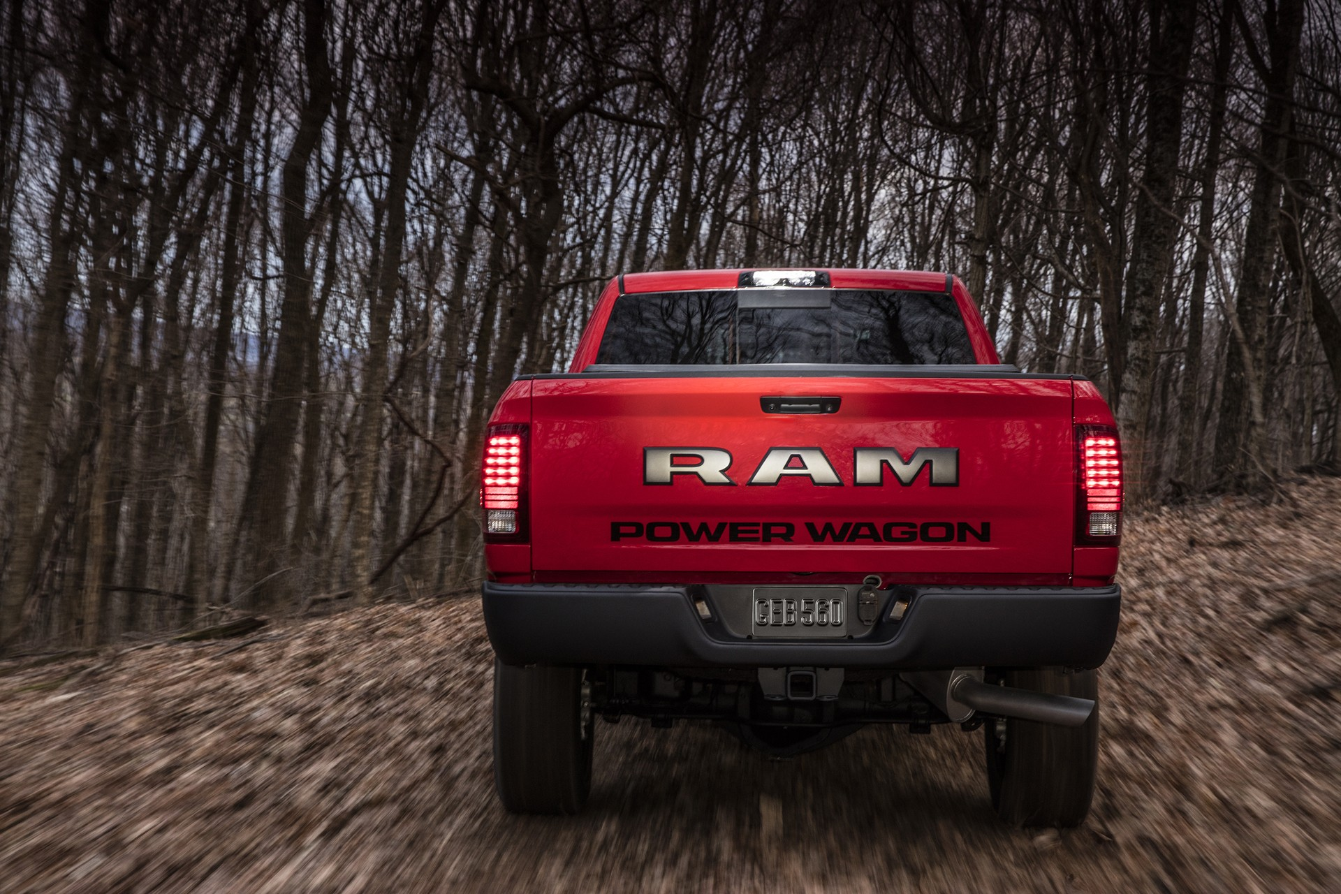Ram Power Wagon Ditches Chrome Grille For Blacked Out Snout on 2020 Dodge Ram 2500
