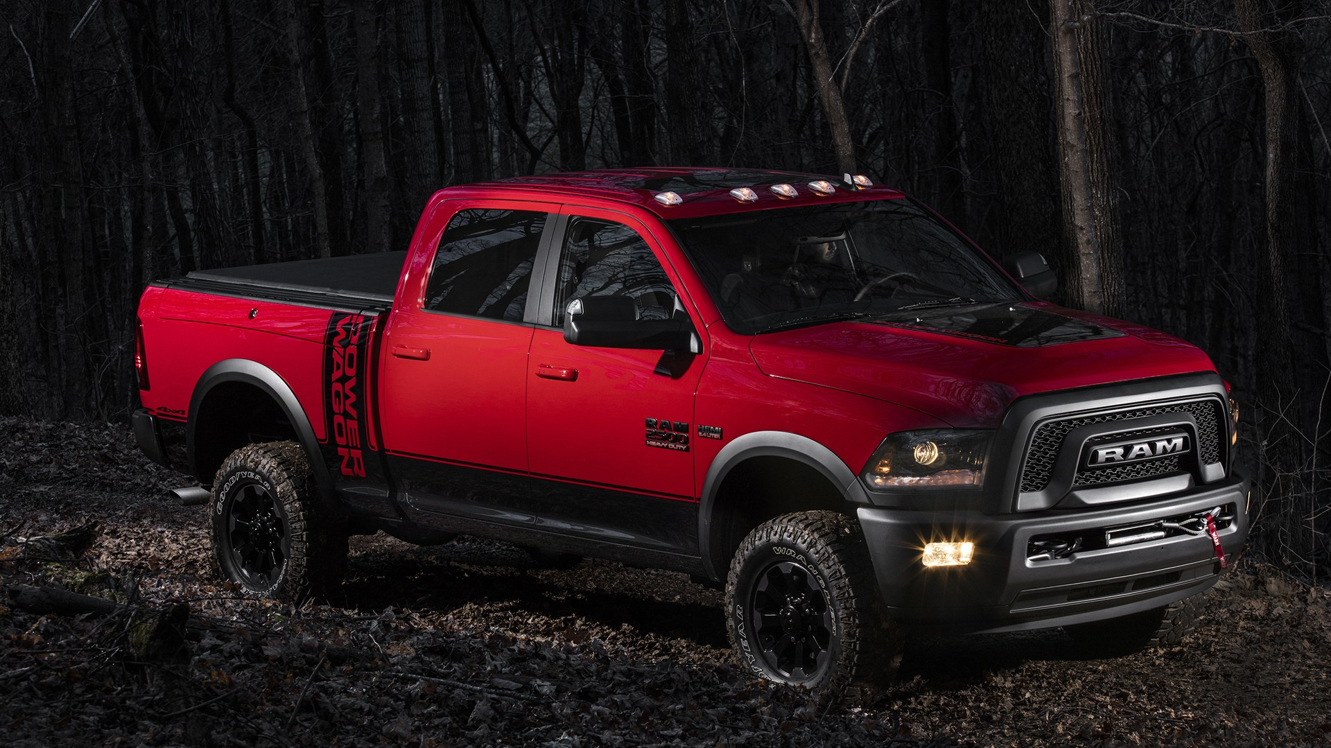 2017 Ram Power Wagon Ditches Chrome Grille For Blacked Out