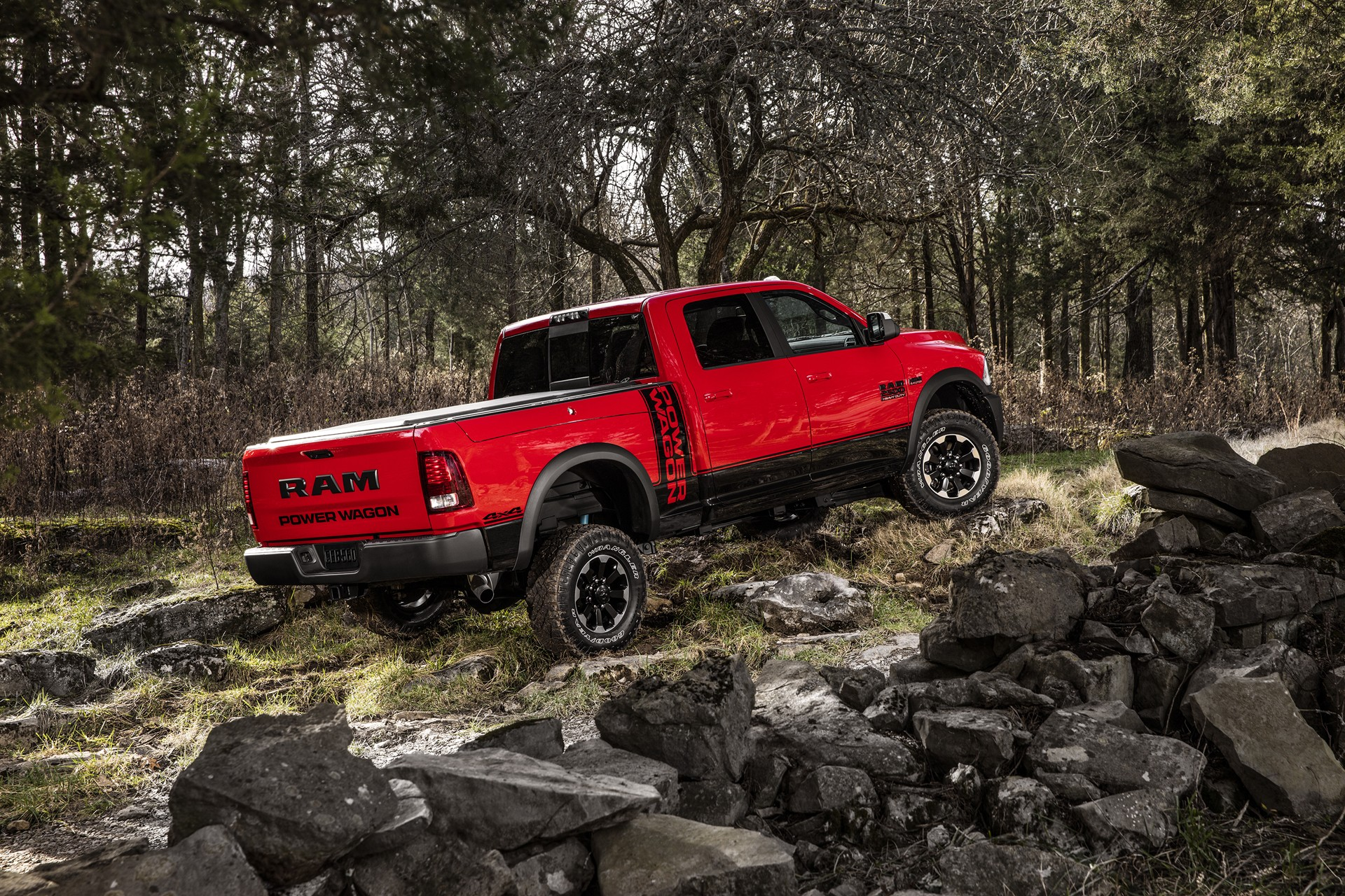 2017 Ram Power Wagon Ditches Chrome Grille for Blacked-Out ...